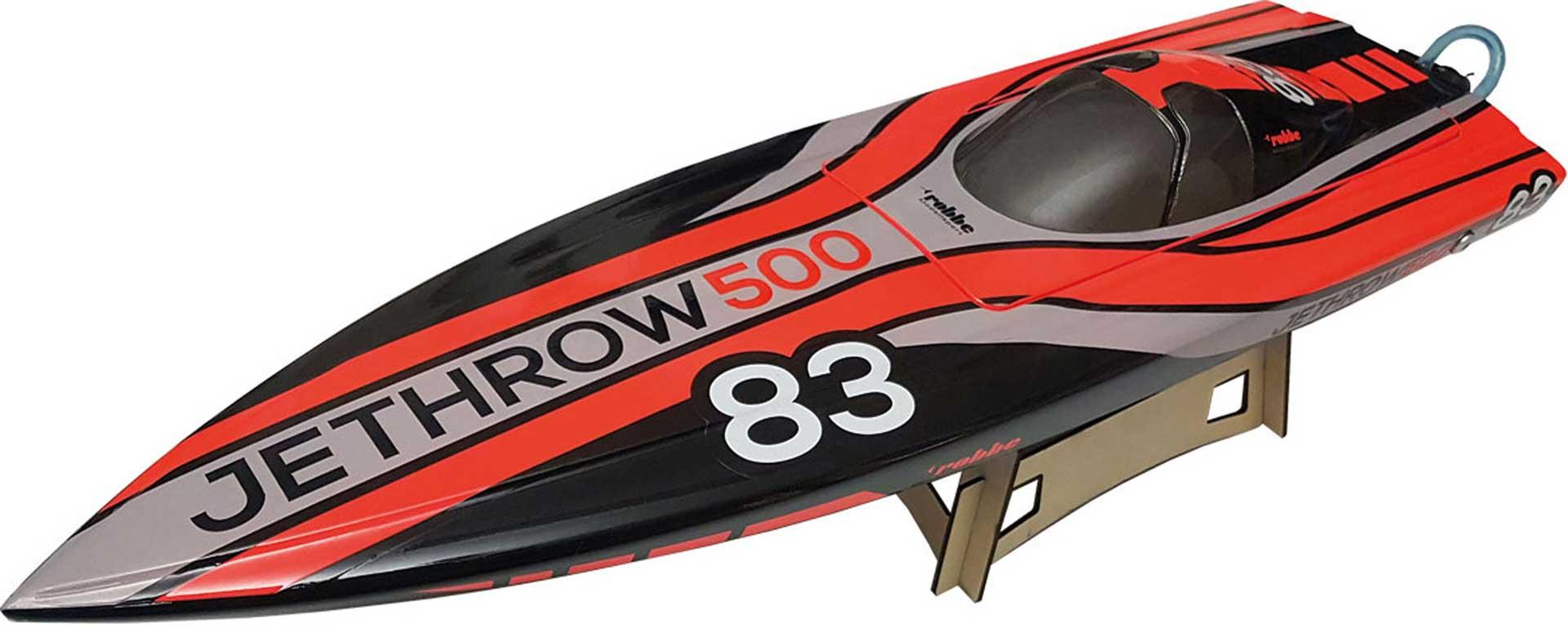 Robbe Modellsport JETHROW 500 ARTR BRUSHLESS SPEED BOOT MIT JETANTRIEB, REGLER, MOTOR, SERVO
