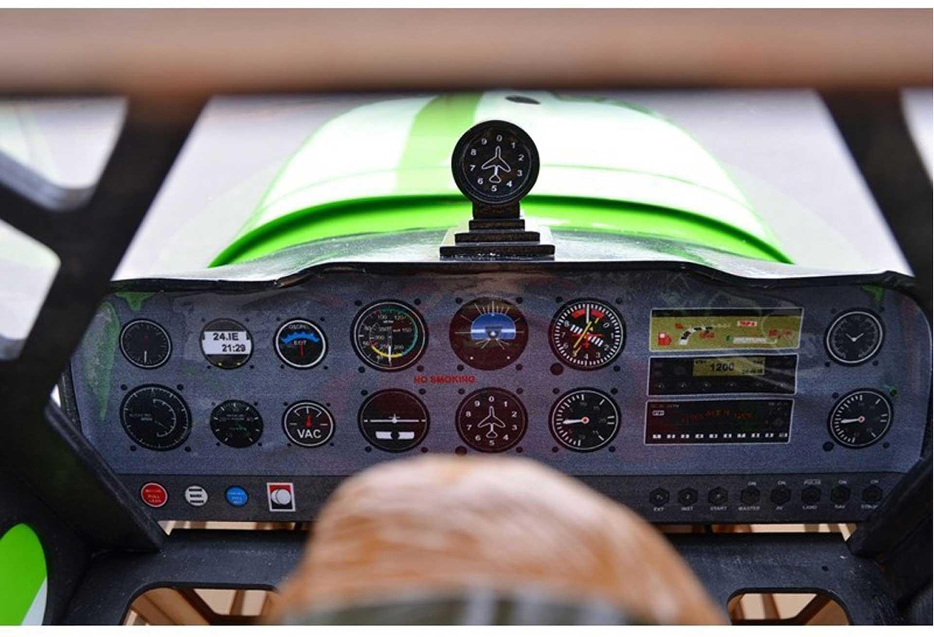 SG-MODELS DECATHLON 50CC 3D ARF GRÜN 3,1M