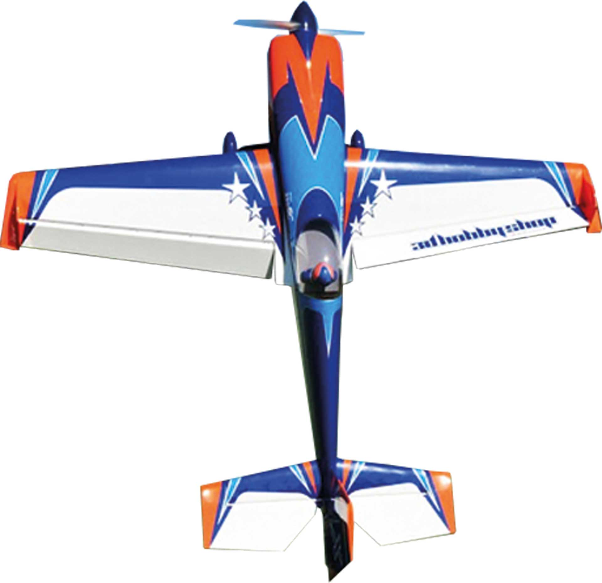 "3D HOBBY SHOP EXTRA 330SC 95"" E-VERSION BLAU / ORANGE / WEISS ARF"