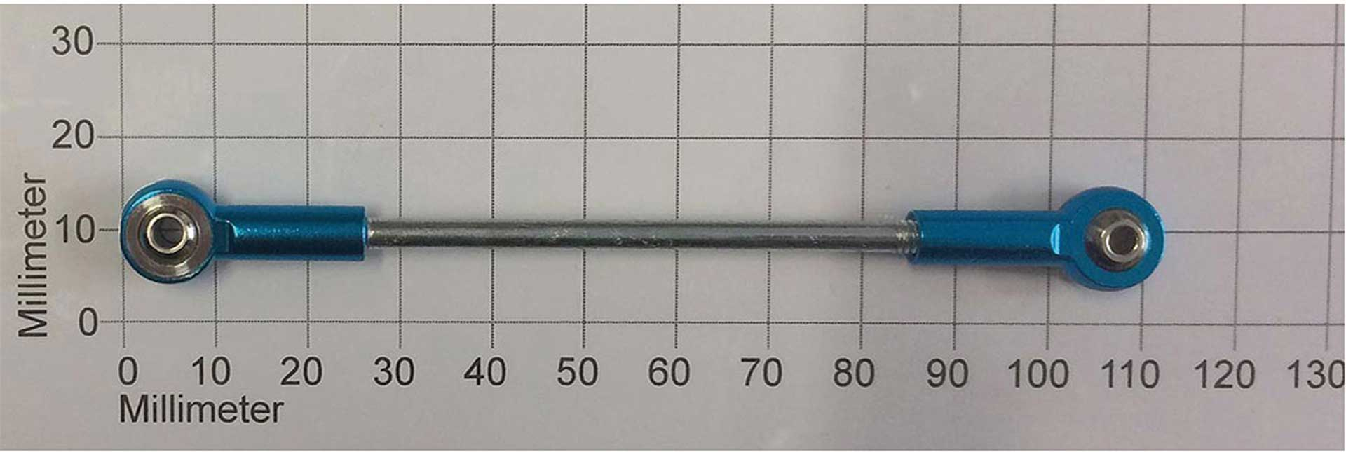 ROBBE Anlenkungsgestänge Metall M3XL26MM