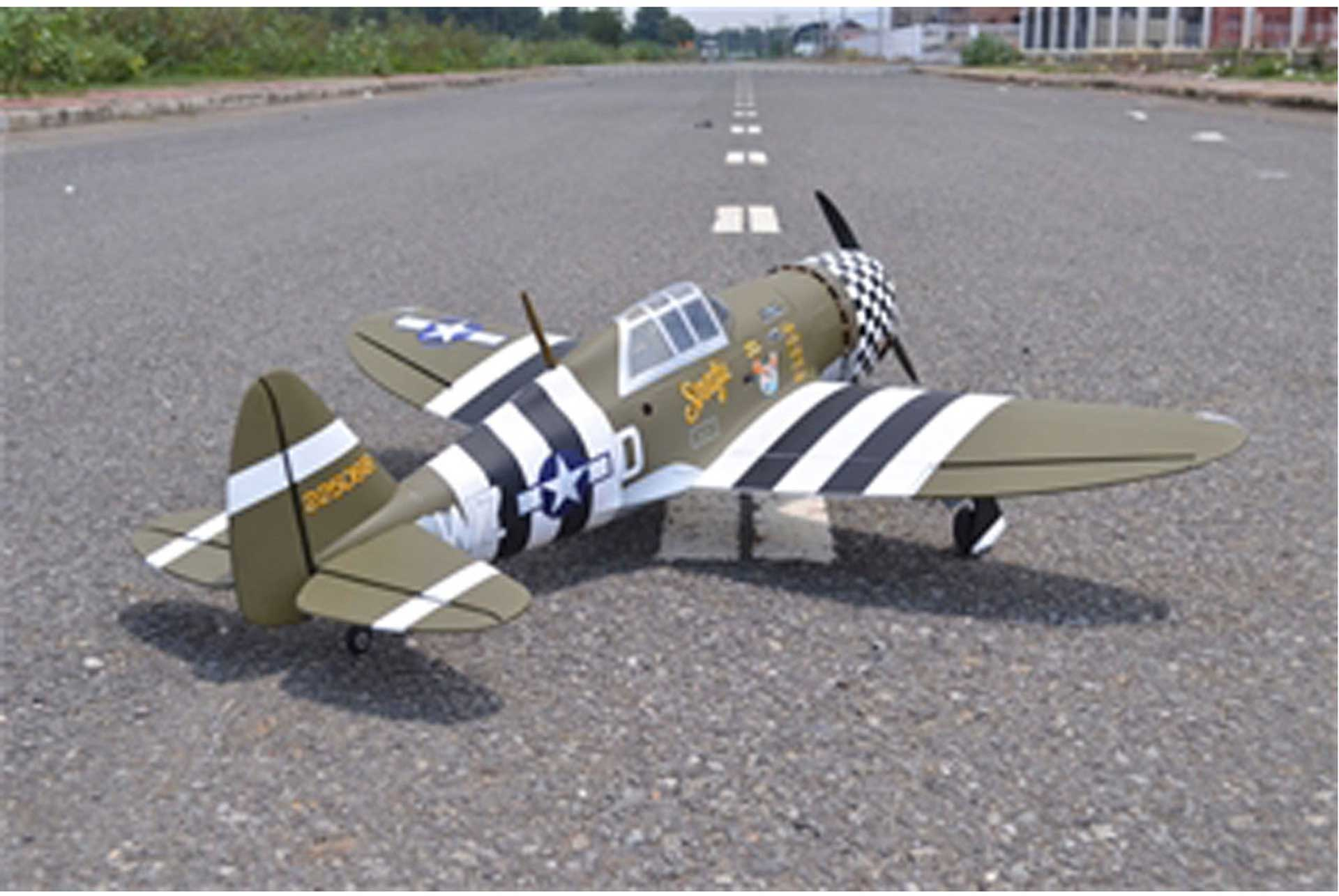 SG-MODELS P-47 THUNDERBOLT MASTER SCALE KIT EDITION HOLZBAUSATZ 1,6M