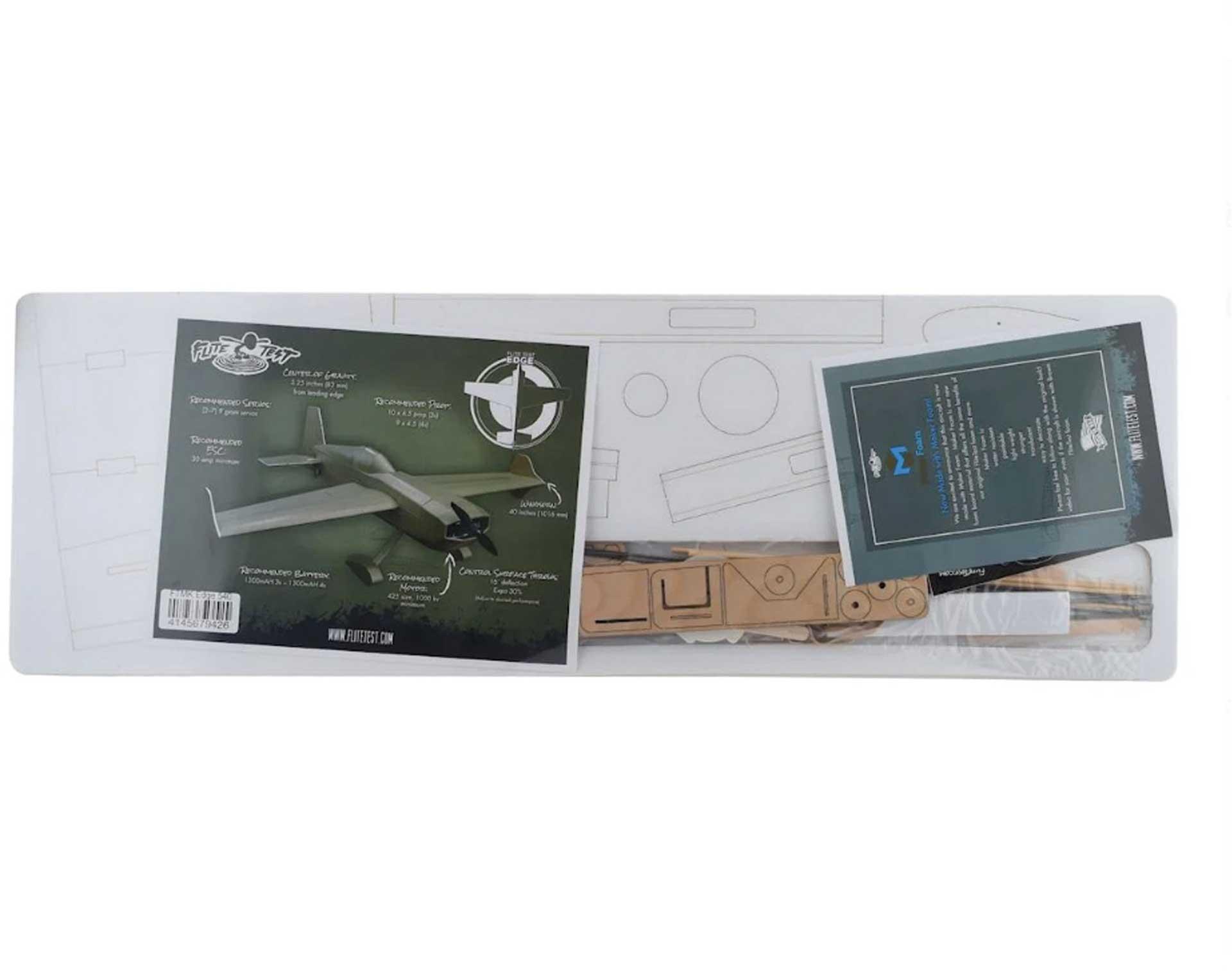 FLITE TEST Edge 540 Kit Maker Foam