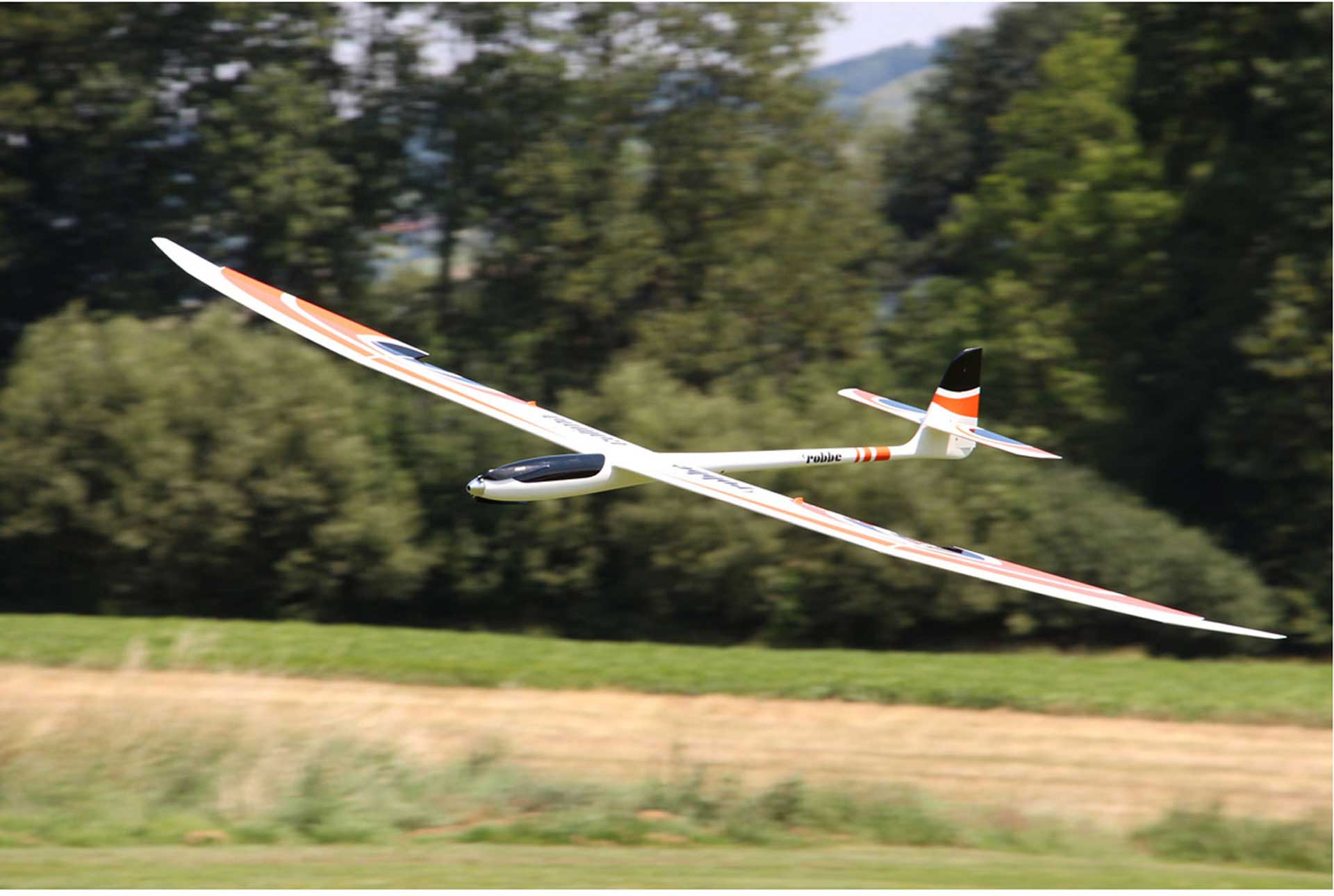 ROBBE CALIMA ARF HIGH PERFORMANCE CONTROLLER WITH 4-FLAP WINGS