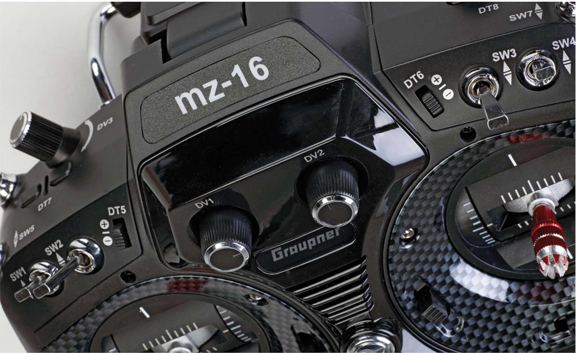 GRAUPNER MZ-16 HOTT 16-KANAL EINZELSENDER