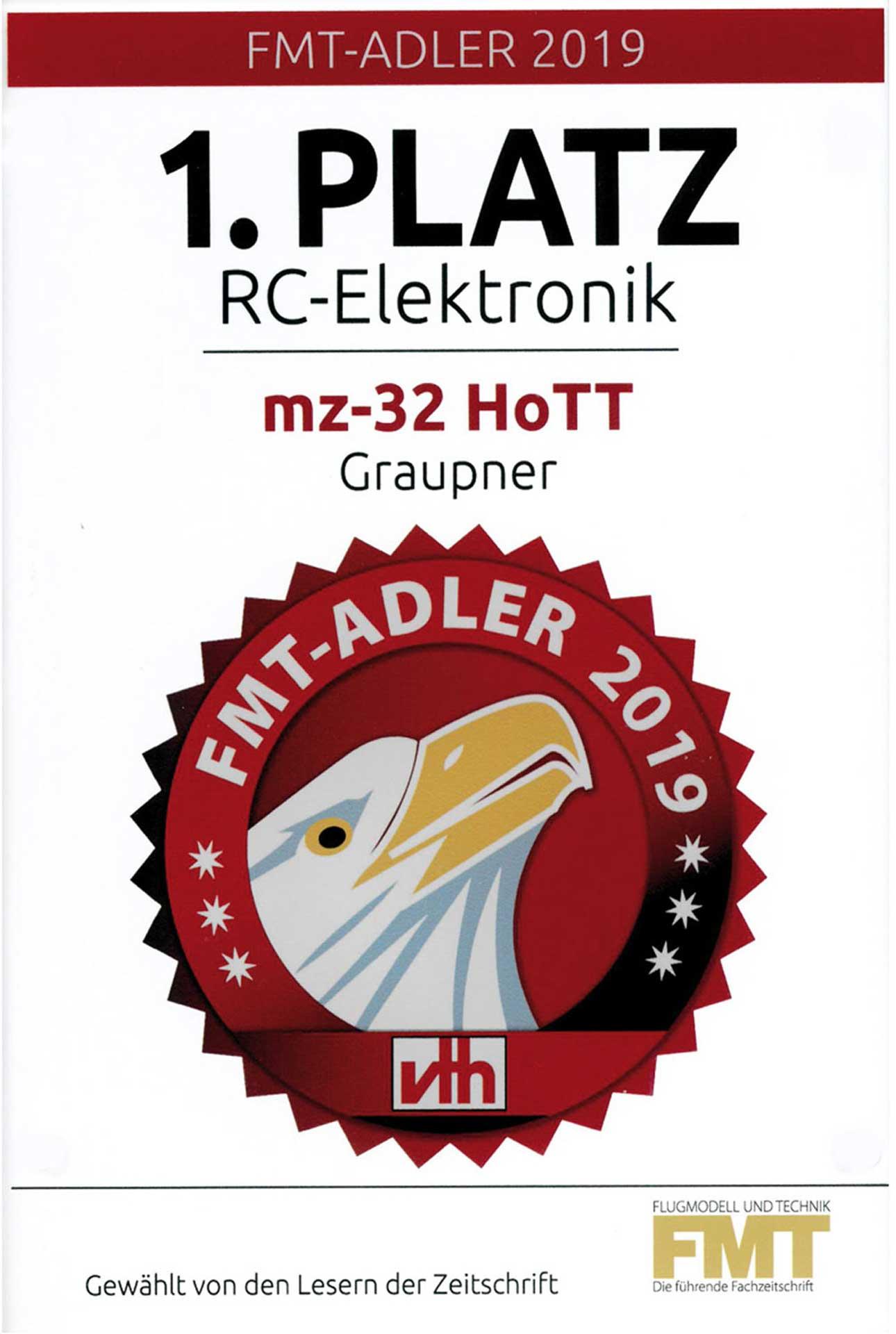 GRAUPNER MZ-32 HOTT EINZELSENDER