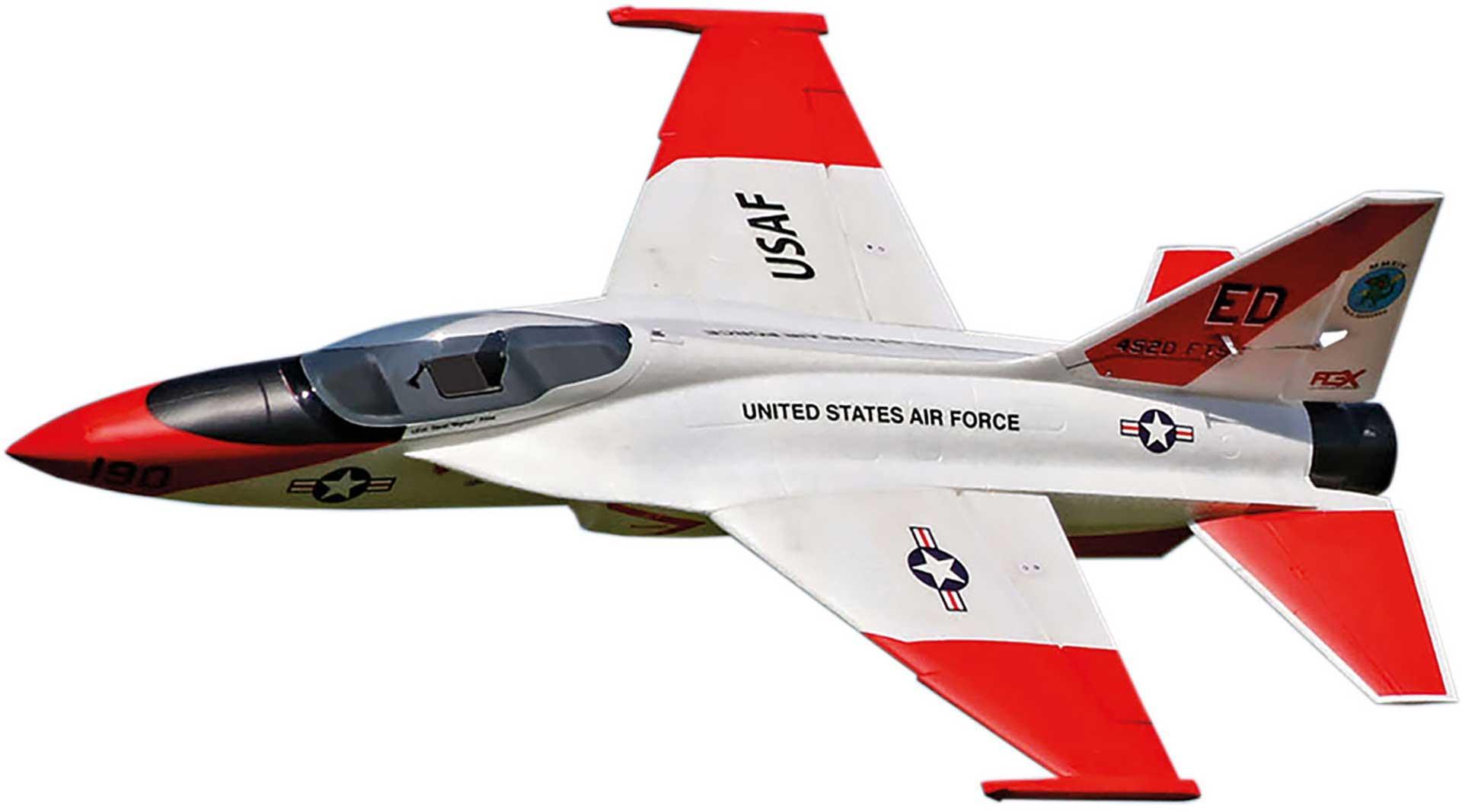 PREMIER AIRCRAFT FLEXJET 90MM EDF IMPELLER JET SUPER PNP ORANGE MIT AURA 8 AFCS