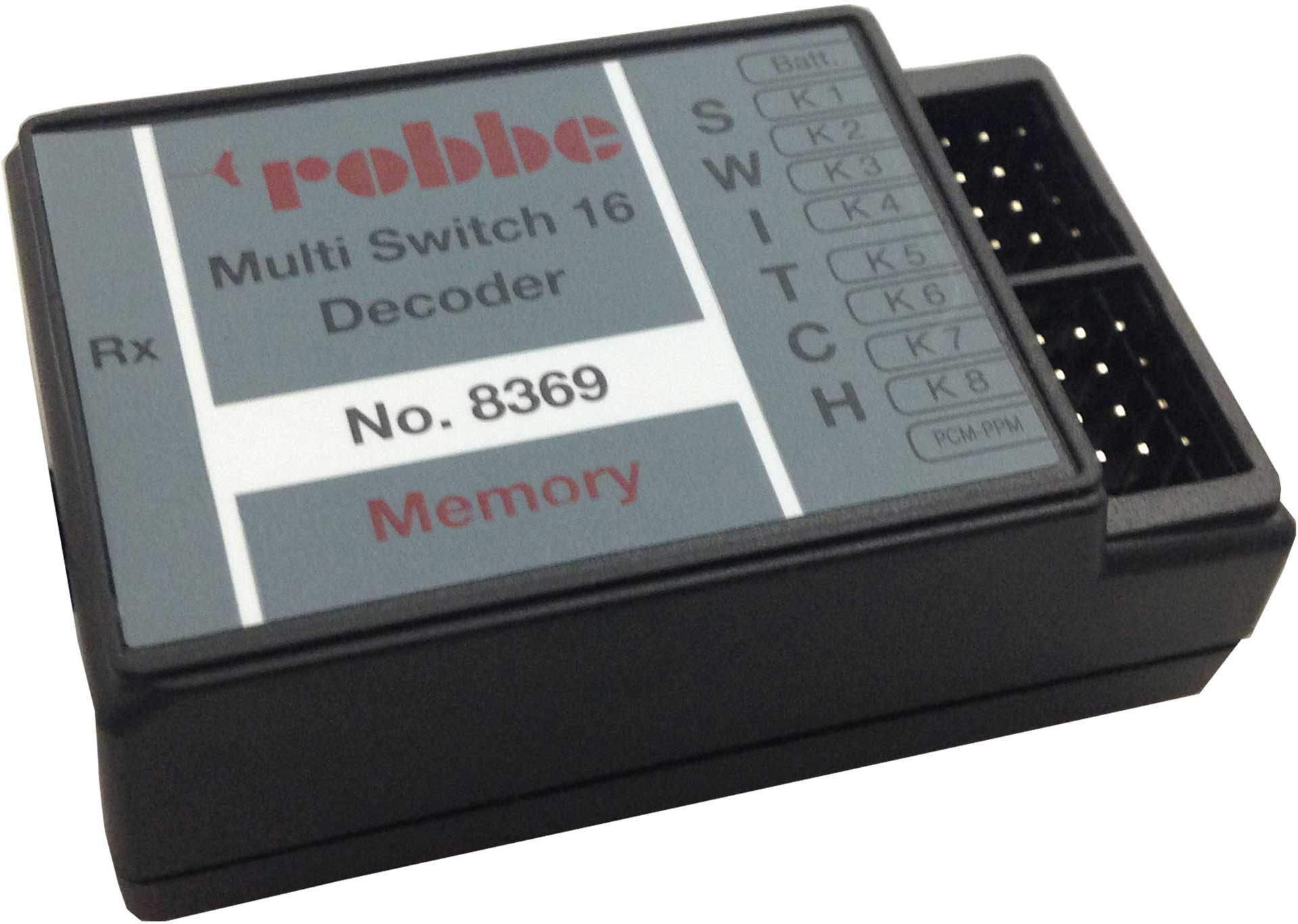 ROBBE MULTI-SWITCH 16 DECODER MEMORY