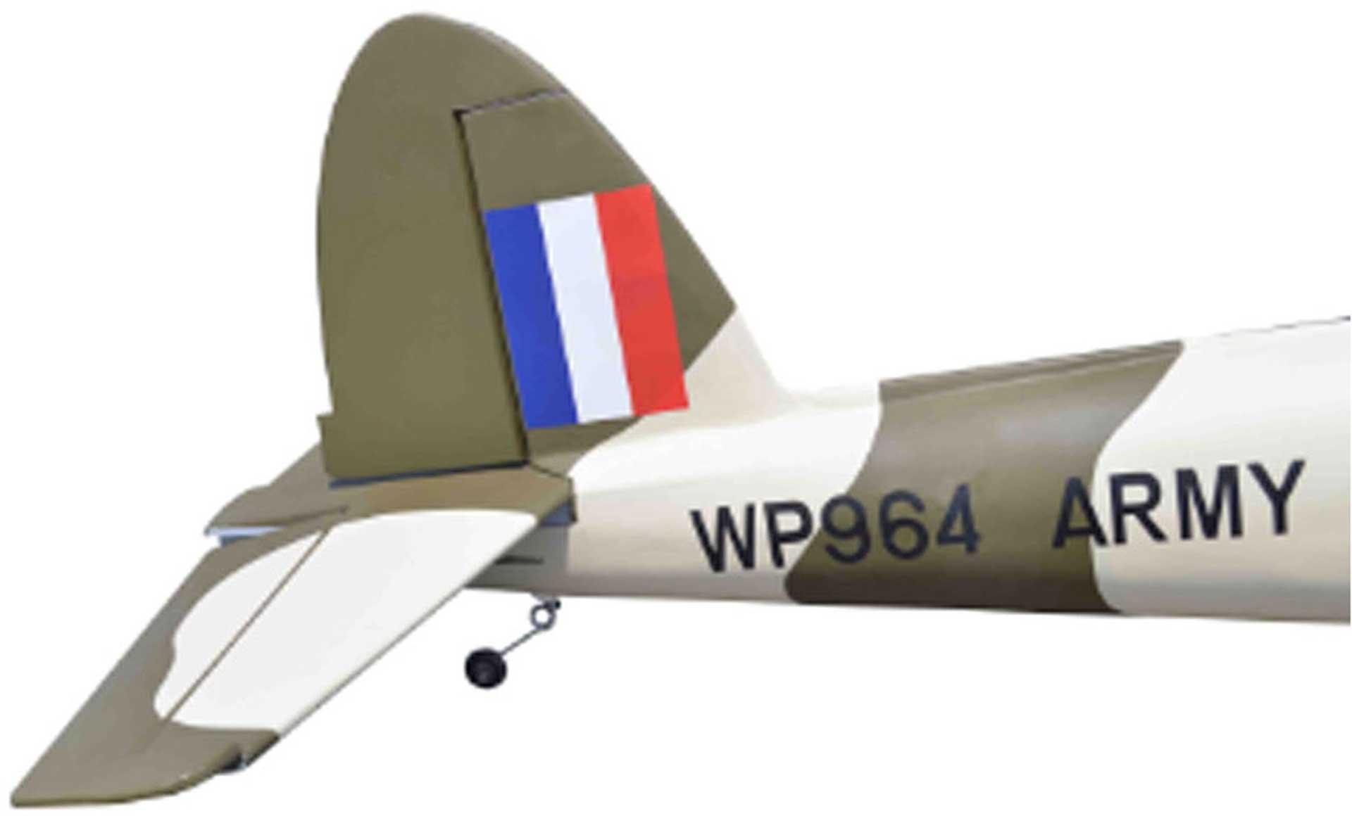 SG-MODELS DHC-1 CHIPMUNK CAMOUFLAGE 2,03M ARF FÜR VERBRENNER ODER E-ANTRIEBE