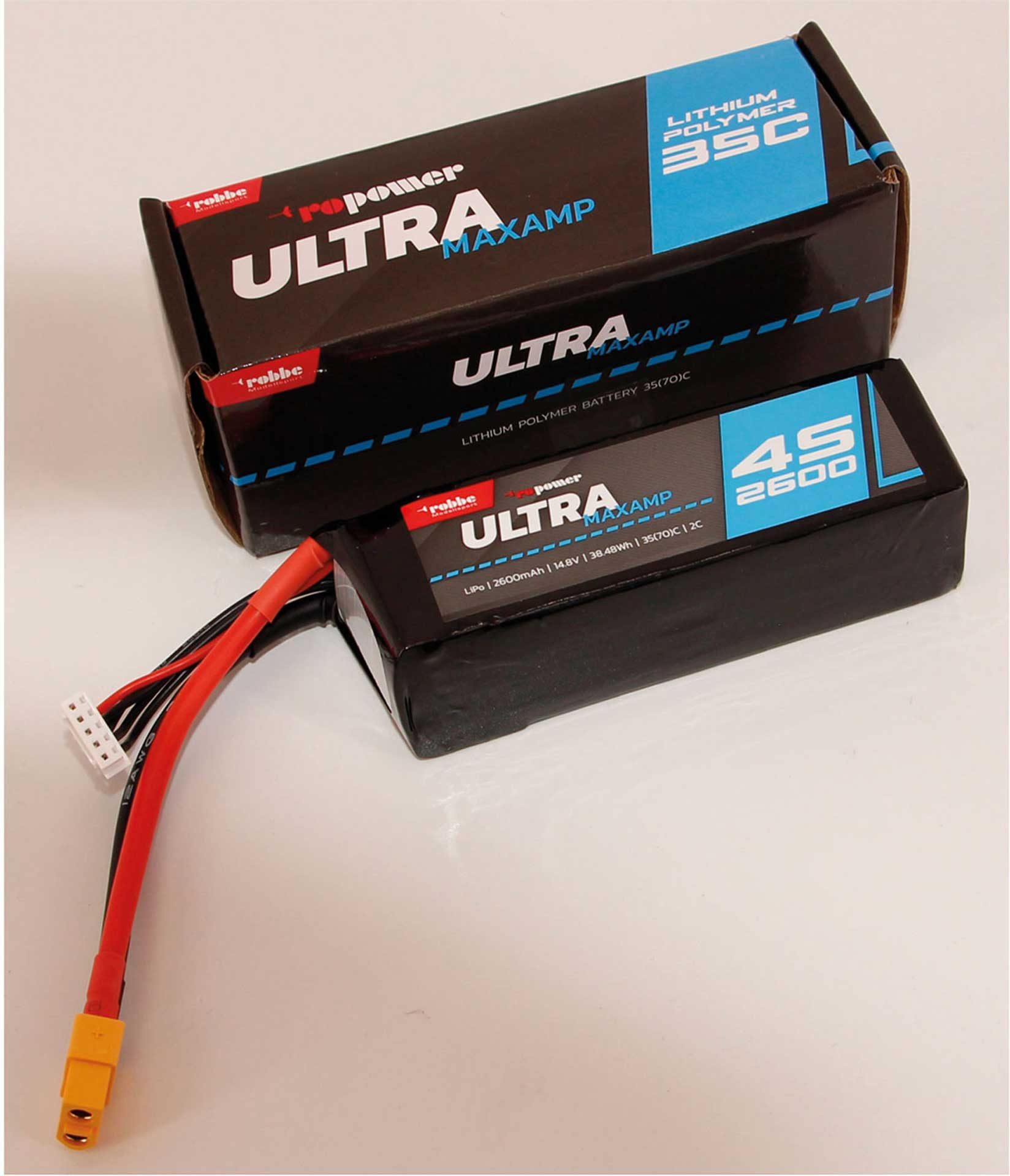 Robbe Modellsport RO-POWER ULTRA MAXAMP 2600MAH 14,8 VOLT 4S 35(70)C LIPO AKKU