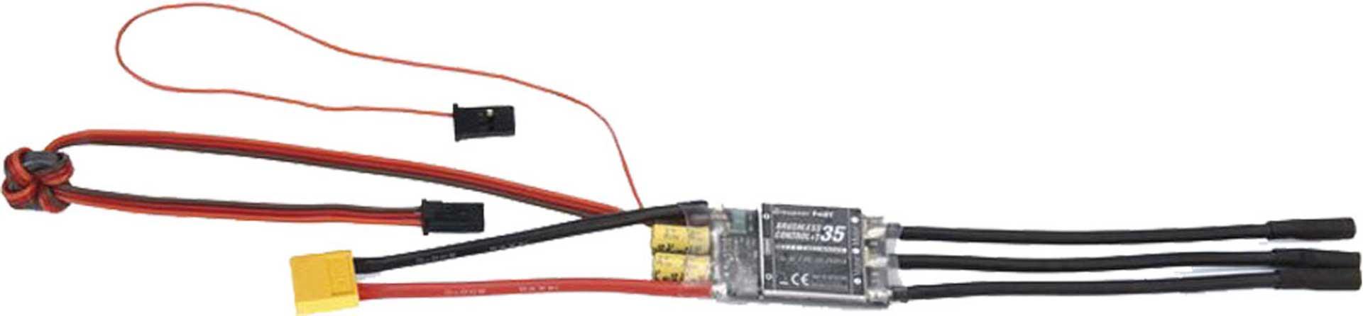 GRAUPNER BRUSHLESS CONTROL+ T 35 BEC G2 XT-60 REGLER