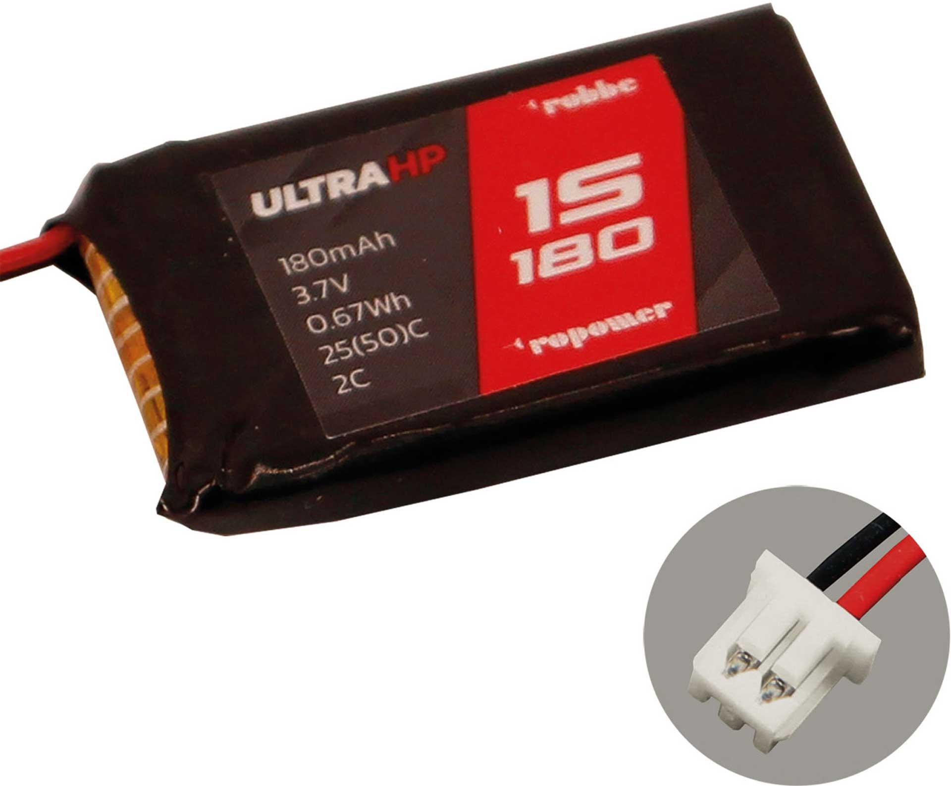 ROBBE RO-POWER ULTRA HP 180MAH 3,7 VOLT 1S MOLEX 1.25/ULTRA MICRO 25(50)C LIPO AKKU