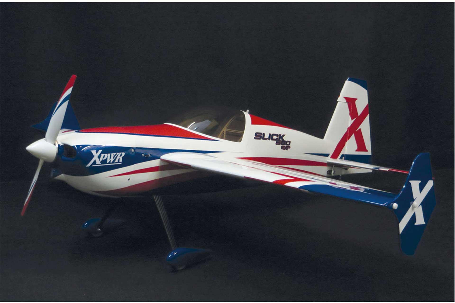 "EXTREMEFLIGHT-RC SLICK 580 74"" ARF RED/ WHITE"