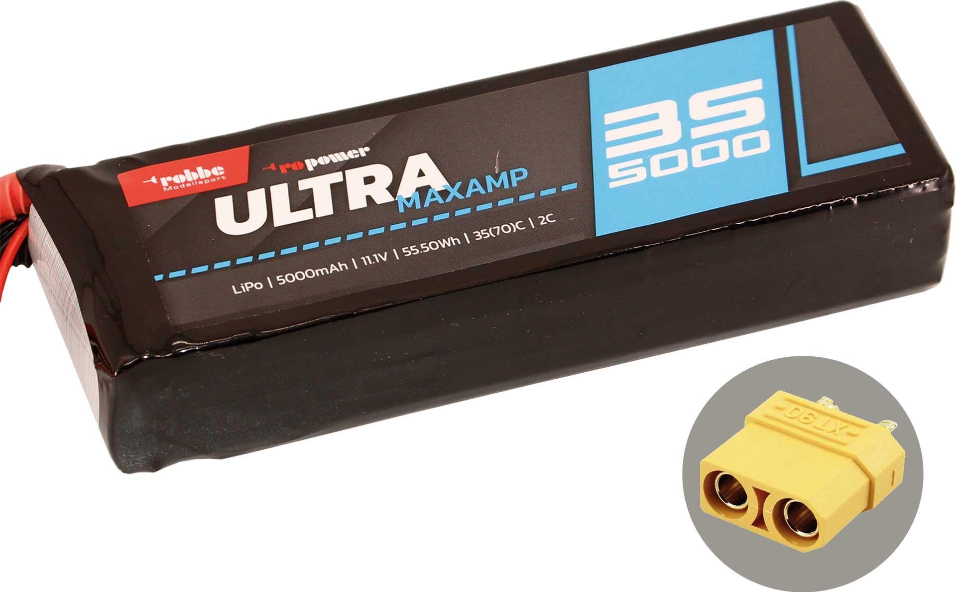 ROBBE RO-POWER ULTRA MAXAMP 5000MAH 11,1 VOLT
