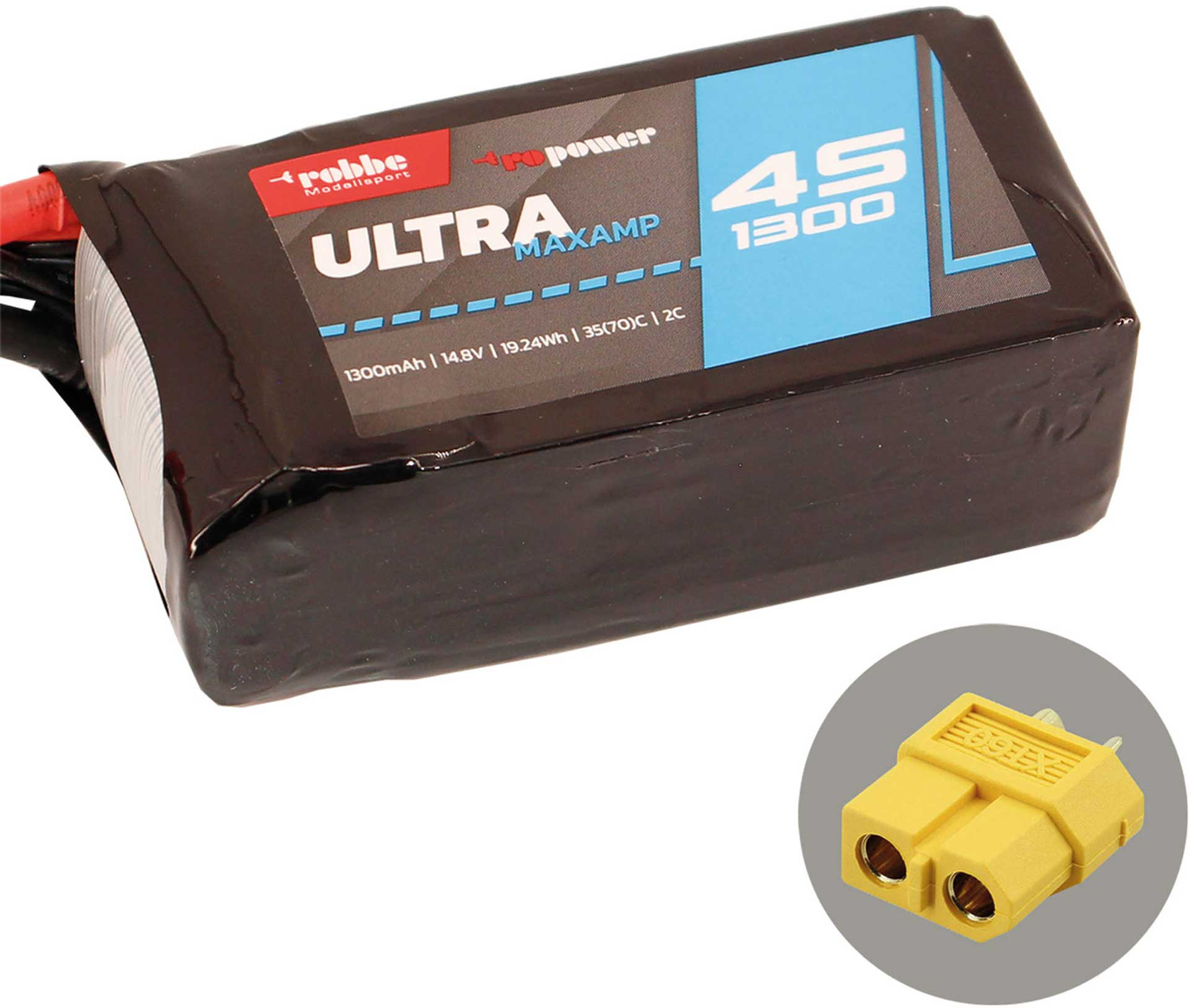 ROBBE RO-POWER ULTRA MAXAMP 1300MAH 14,8 VOLT