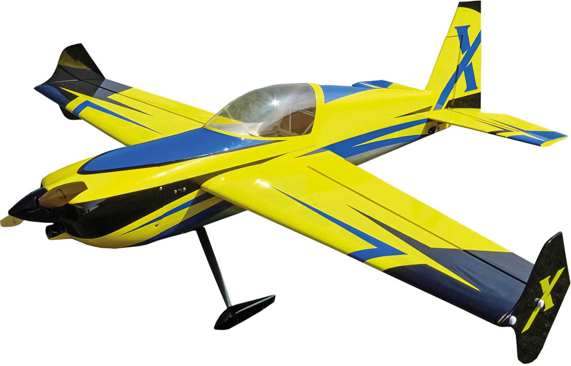 "EXTREMEFLIGHT-RC SLICK 580 52"" ARF YELLOW / BLUE"