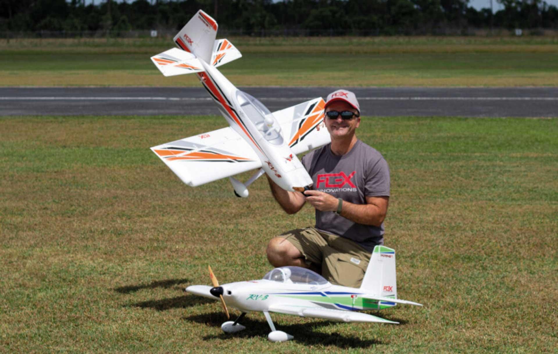 PREMIER AIRCRAFT RV-8 10E Super PNP Orange/Schwarz