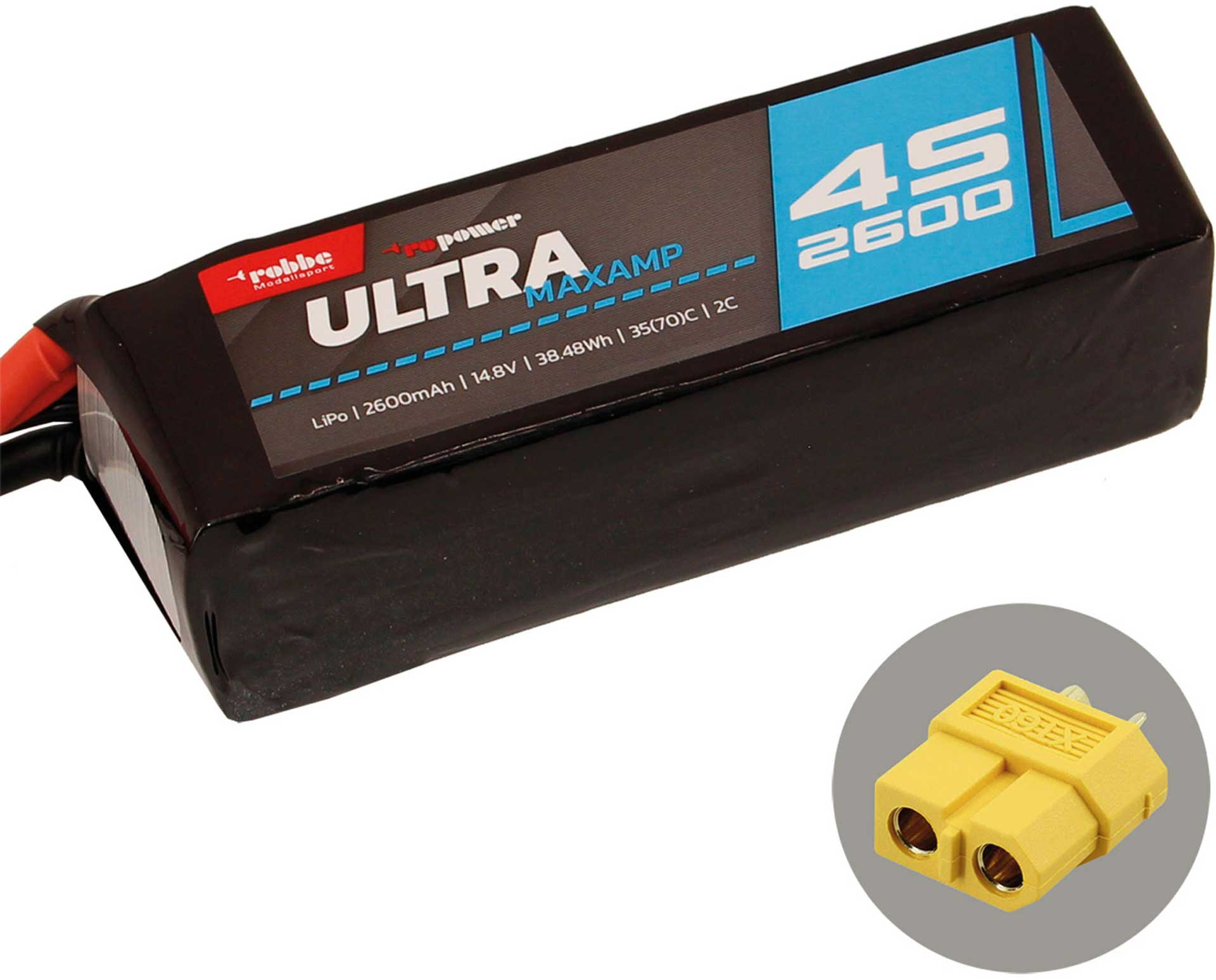 ROBBE RO-POWER ULTRA MAXAMP 2600MAH 14,8 VOLT
