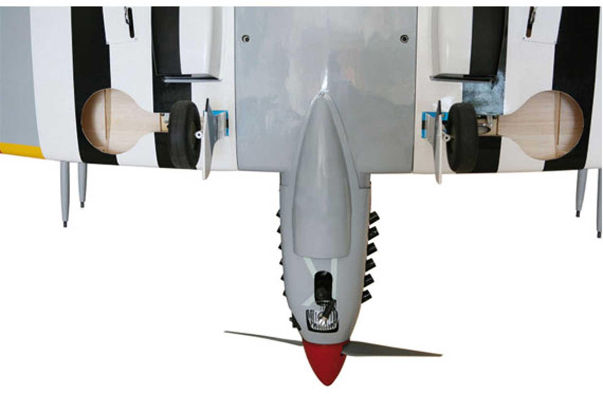 SG-MODELS SPITFIRE 2,0M ARF WARBIRD MIT MECH. EINZIEHF AHRWERK, ELEKTRO-, ODER VERBRENNERVERSIO