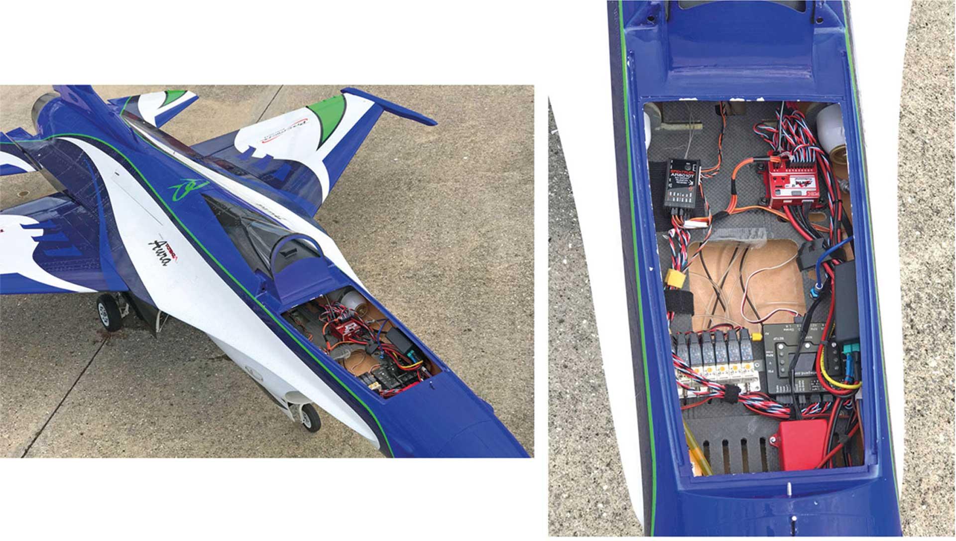 FLEX INNOVATIONS AURA 8 PROFESSIONAL FLIGHT CONTROL
