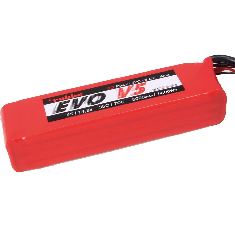 ROBBE RO-POWER EVO V5 35(70)C 14,8 VOLT 4S 5000MAH LIPO AKKU