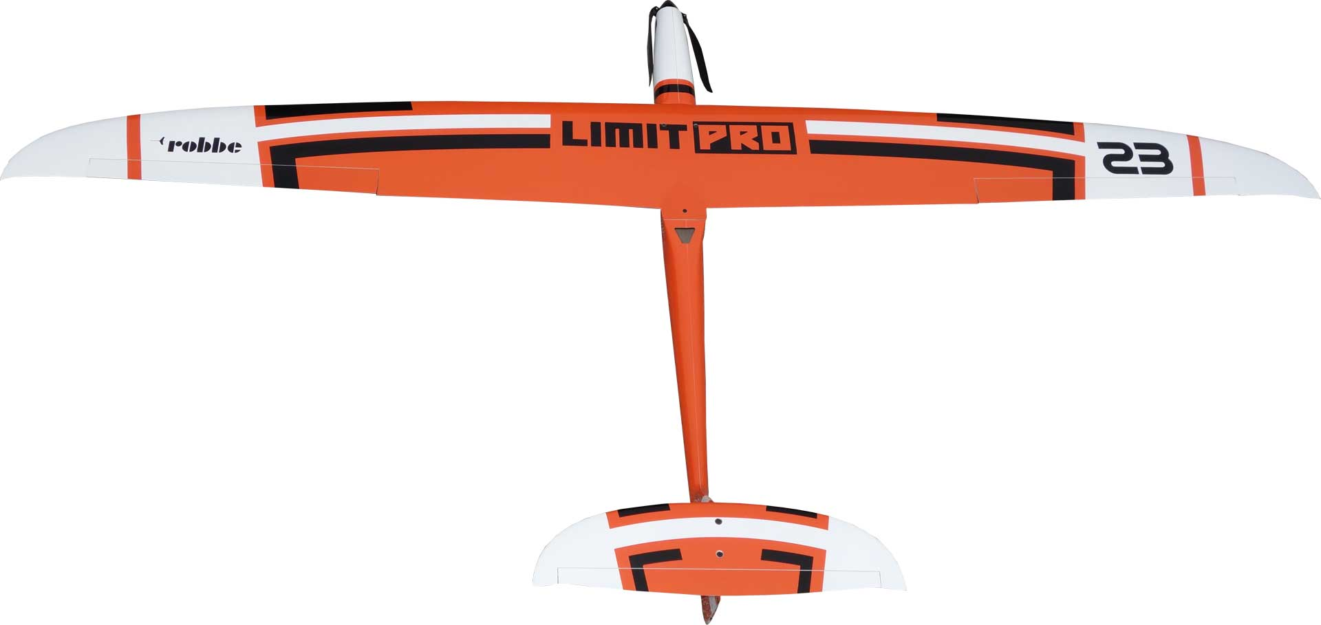 Robbe Modellsport Limit Pro PNP ORANGE with built-in motor and servos, full-GRP/CRP