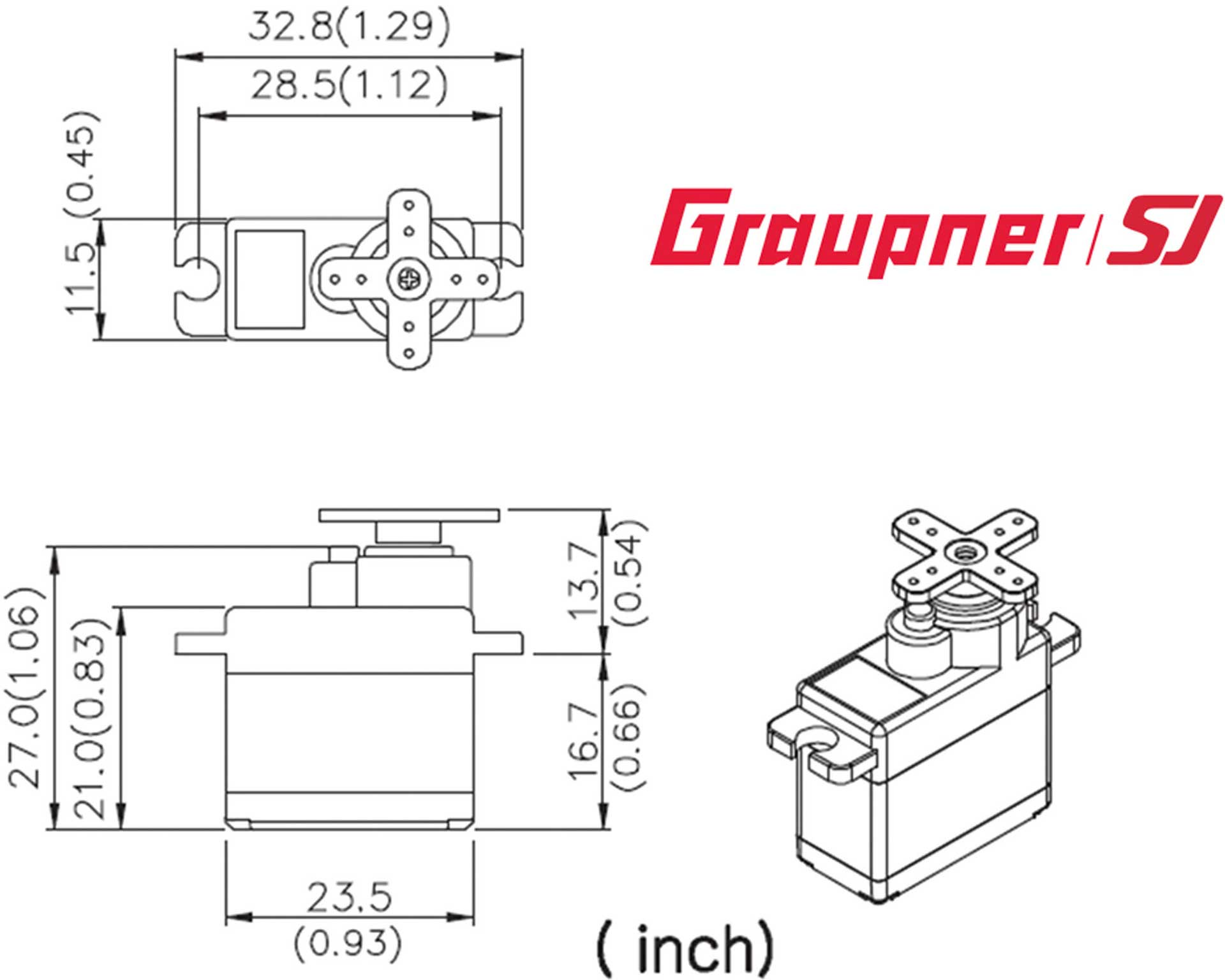 GRAUPNER DES 488 BB MG DIGITAL SERVO
