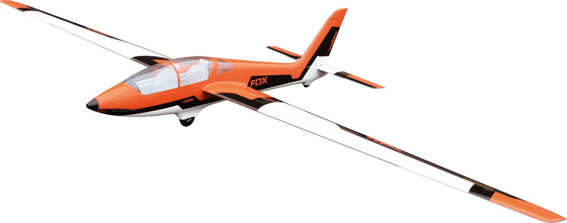 Robbe Modellsport MDM-1 Fox 3,5m glider ARF full GFRP/CFRP painted orange aerobatic glider