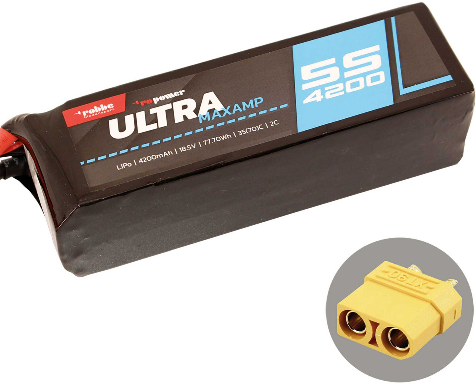ROBBE RO-POWER ULTRA MAXAMP 4200MAH 18,5 VOLT