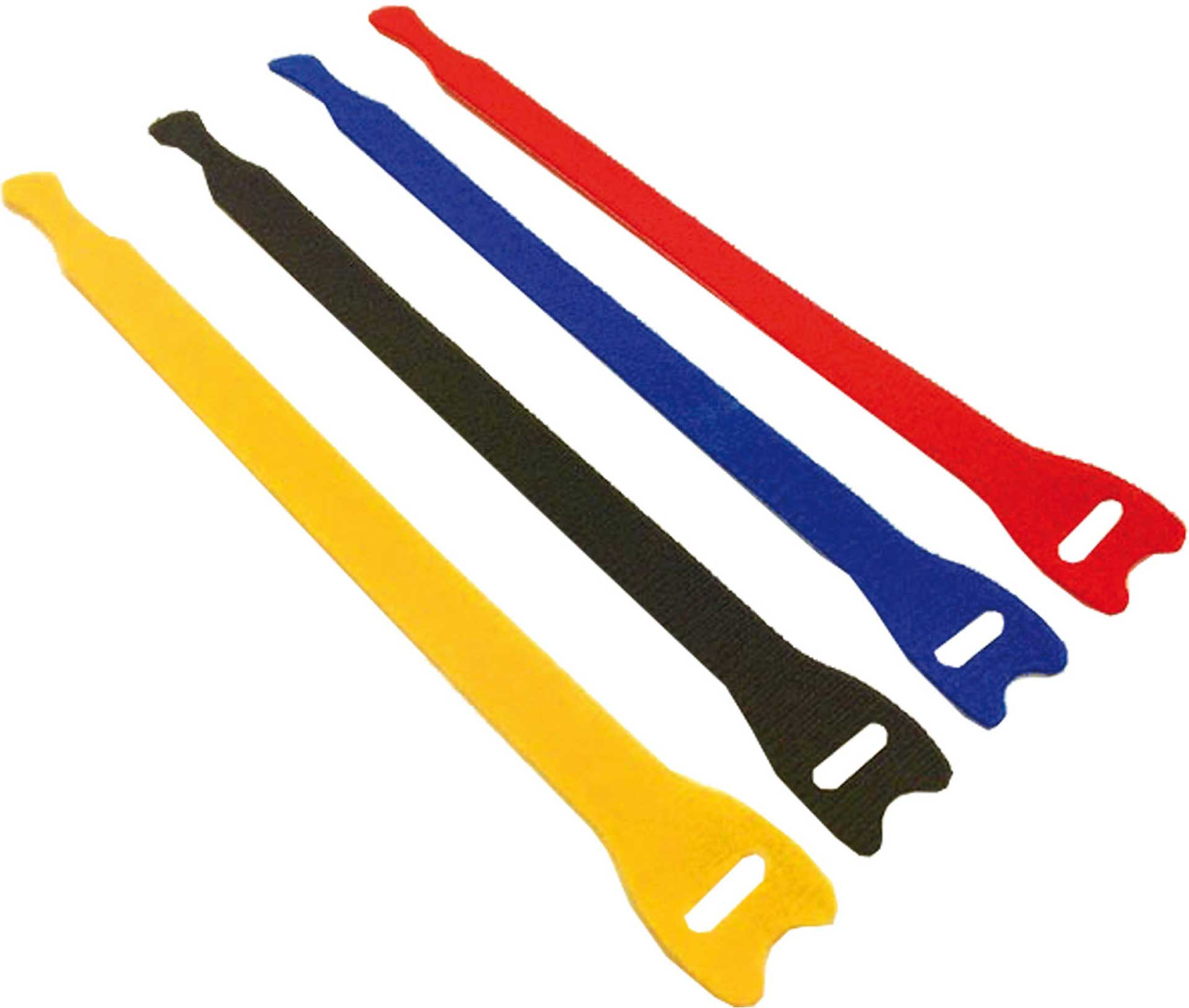 ROBBE VELCRO STRAP 13/200MM 5pcs ASSORTED COL ORS