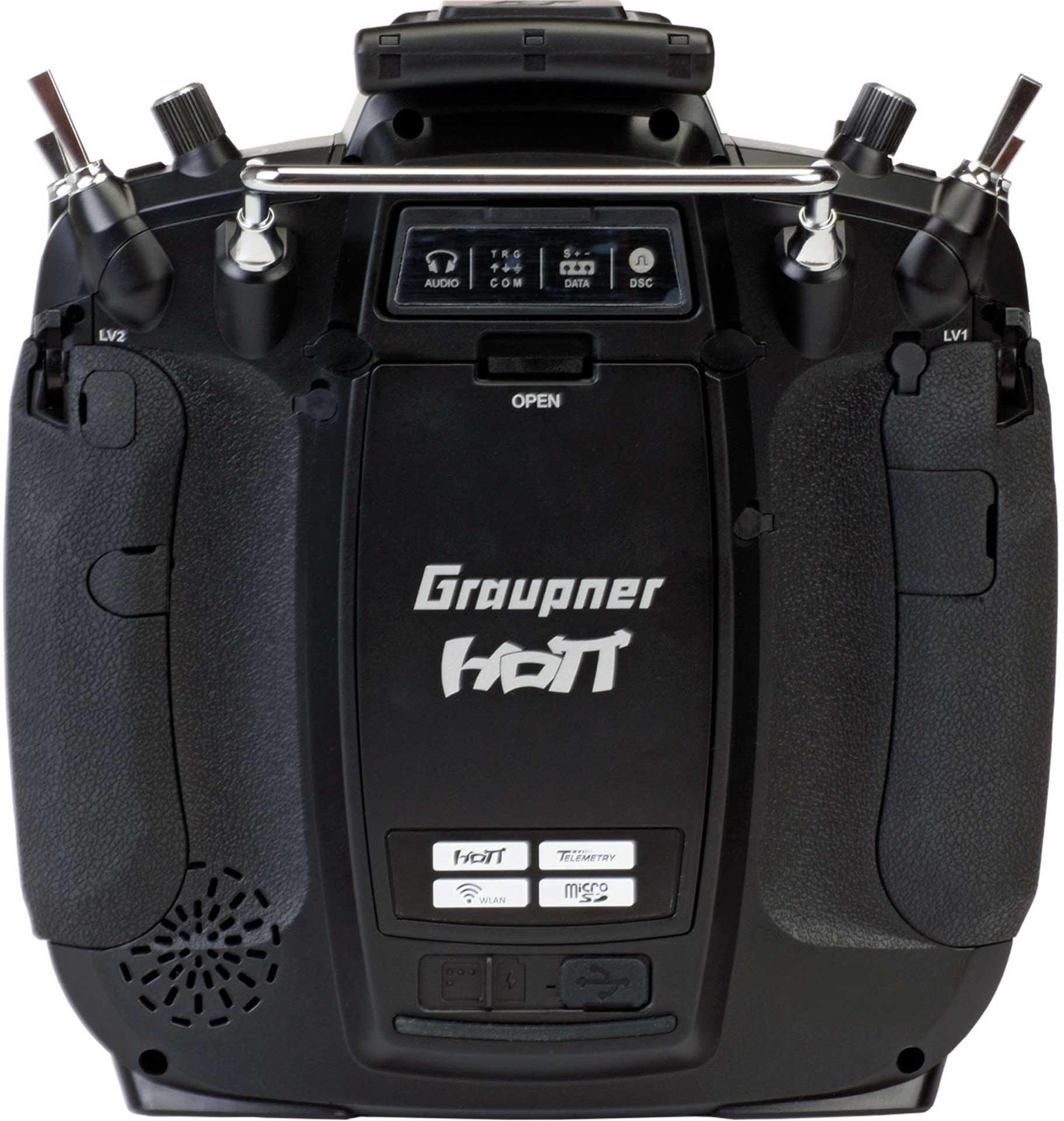 GRAUPNER MZ-16 HOTT 16-KANAL Einzelsender 2,4Ghz Fernsteuerung