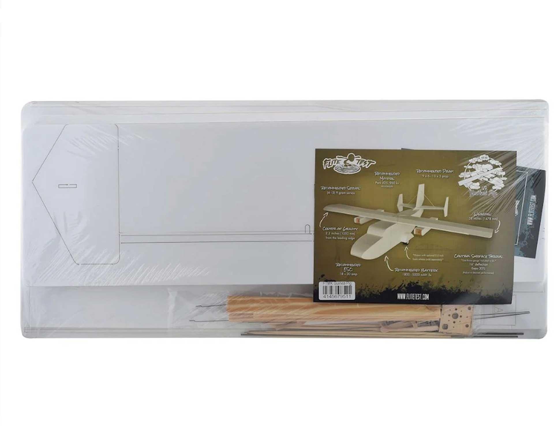 FLITE TEST Guinea Pig Kit Maker Foam 1473mm