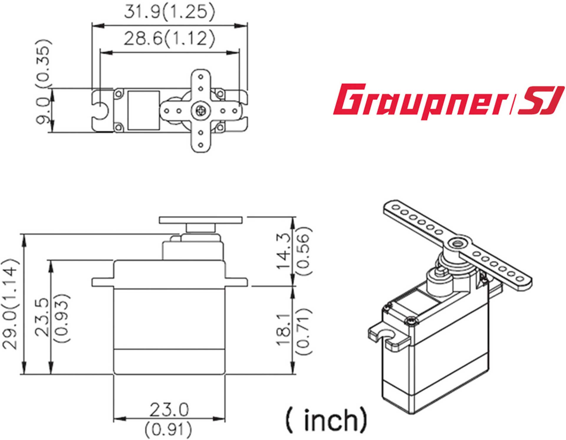 GRAUPNER DES 428 BB MG DIGITAL SERVO