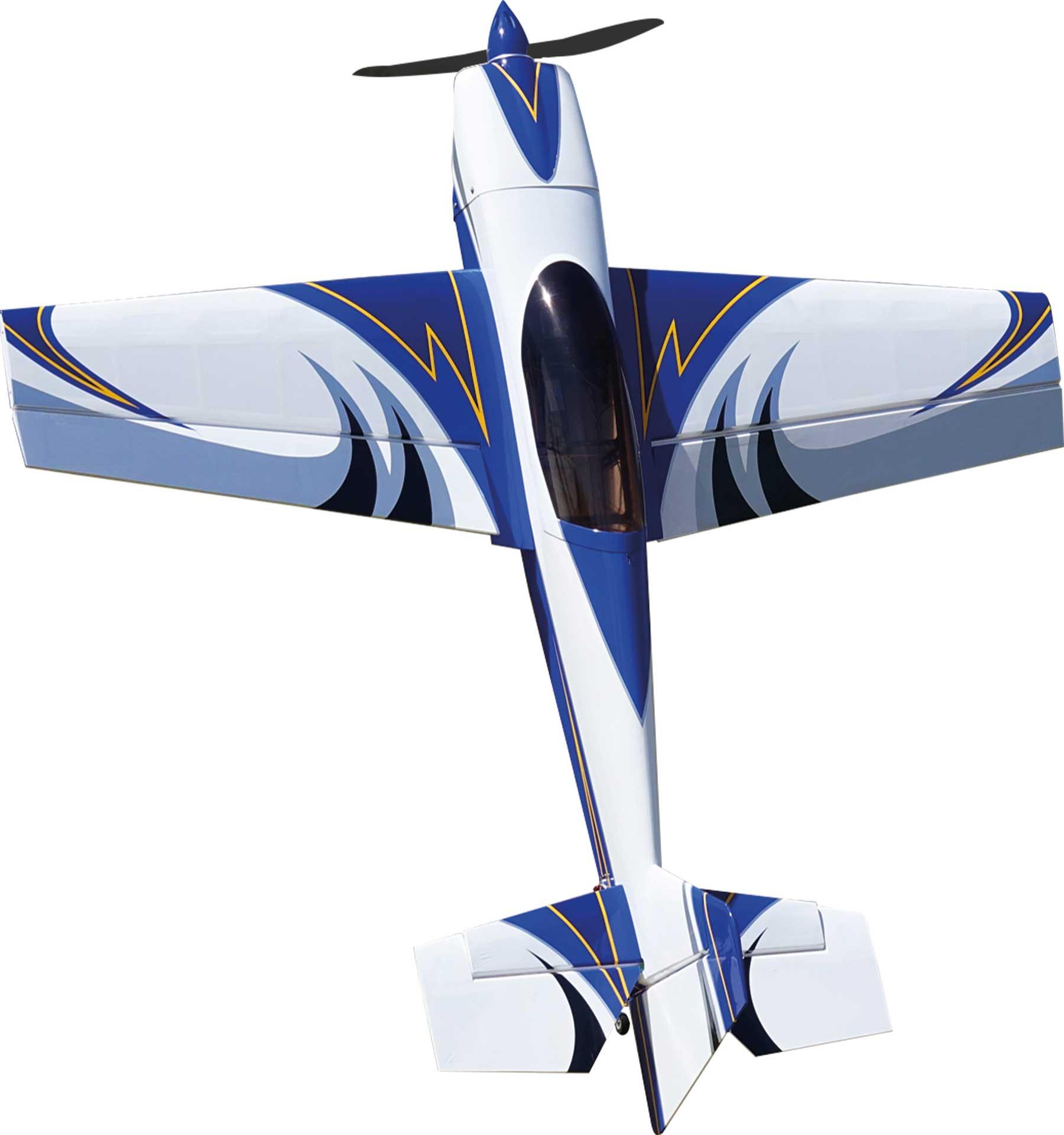 "EXTREMEFLIGHT-RC Extra NG 60"" Blue/White ARF"