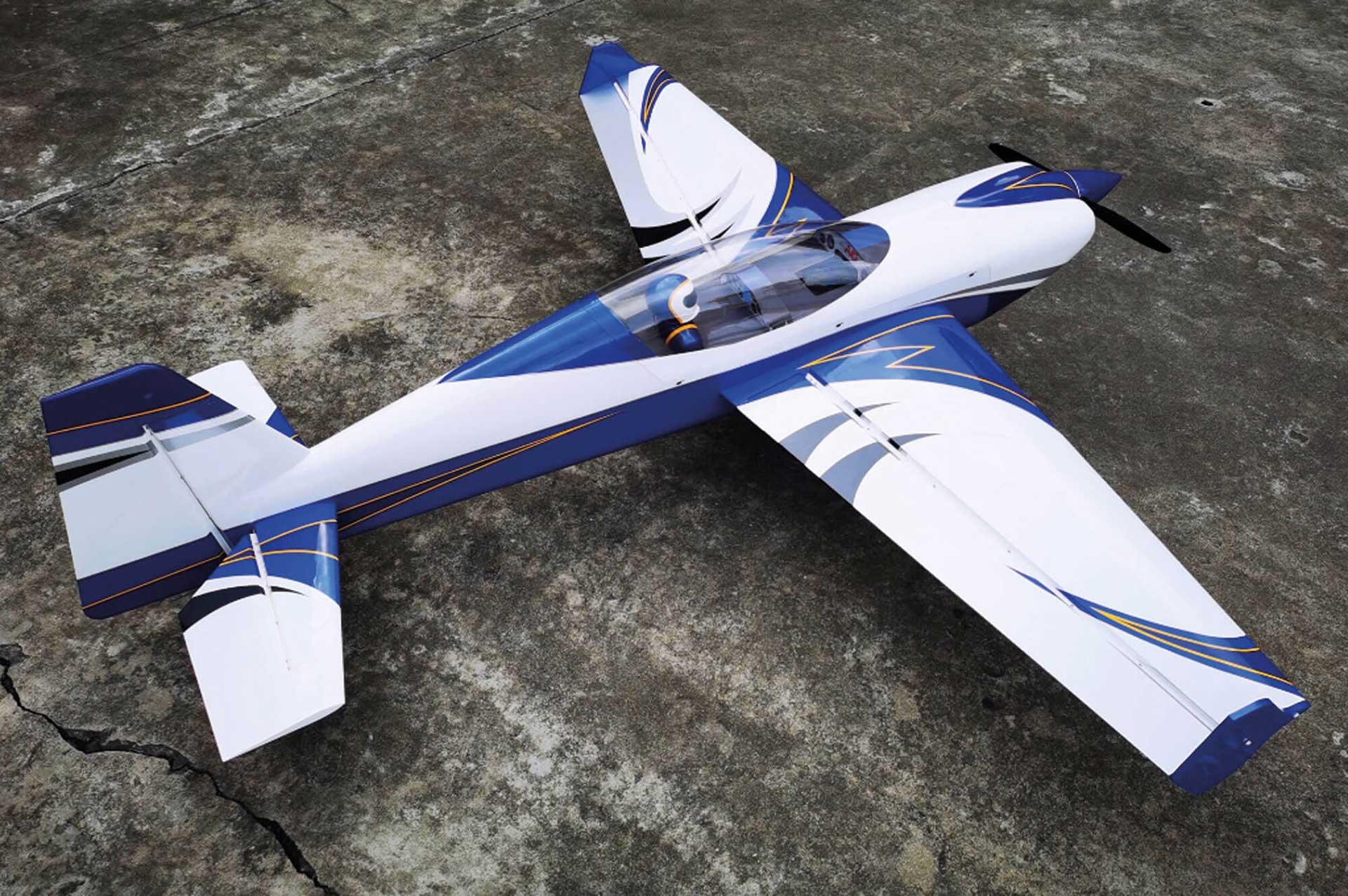 "EXTREMEFLIGHT-RC EXTRA NG 104"" Blau/Weiss ARF"
