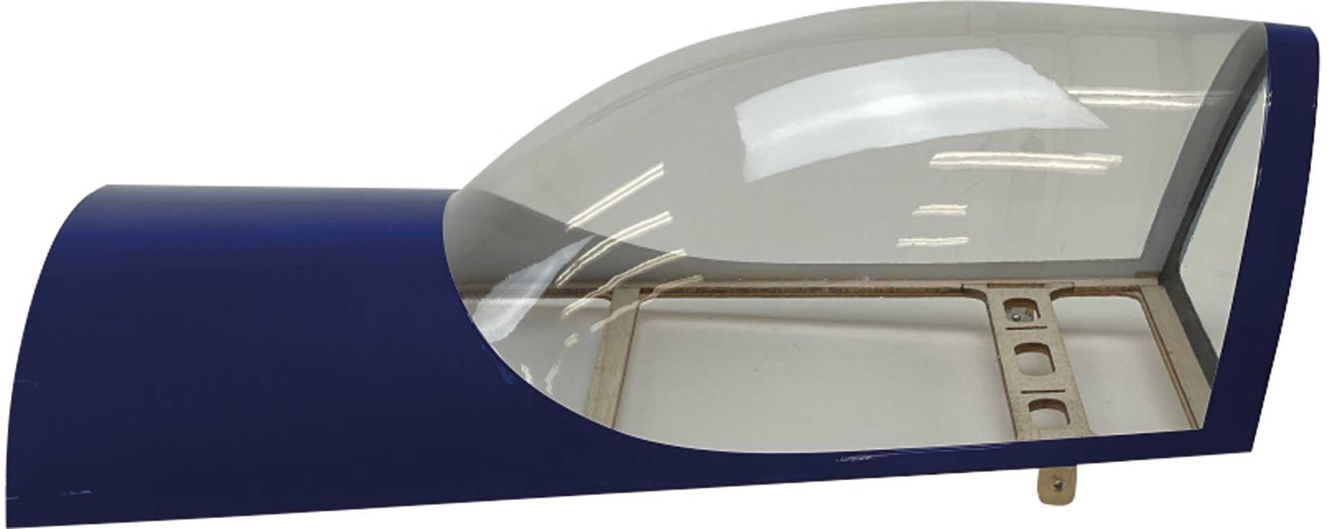PREMIER AIRCRAFT Canopy Blue Mamba 120cc
