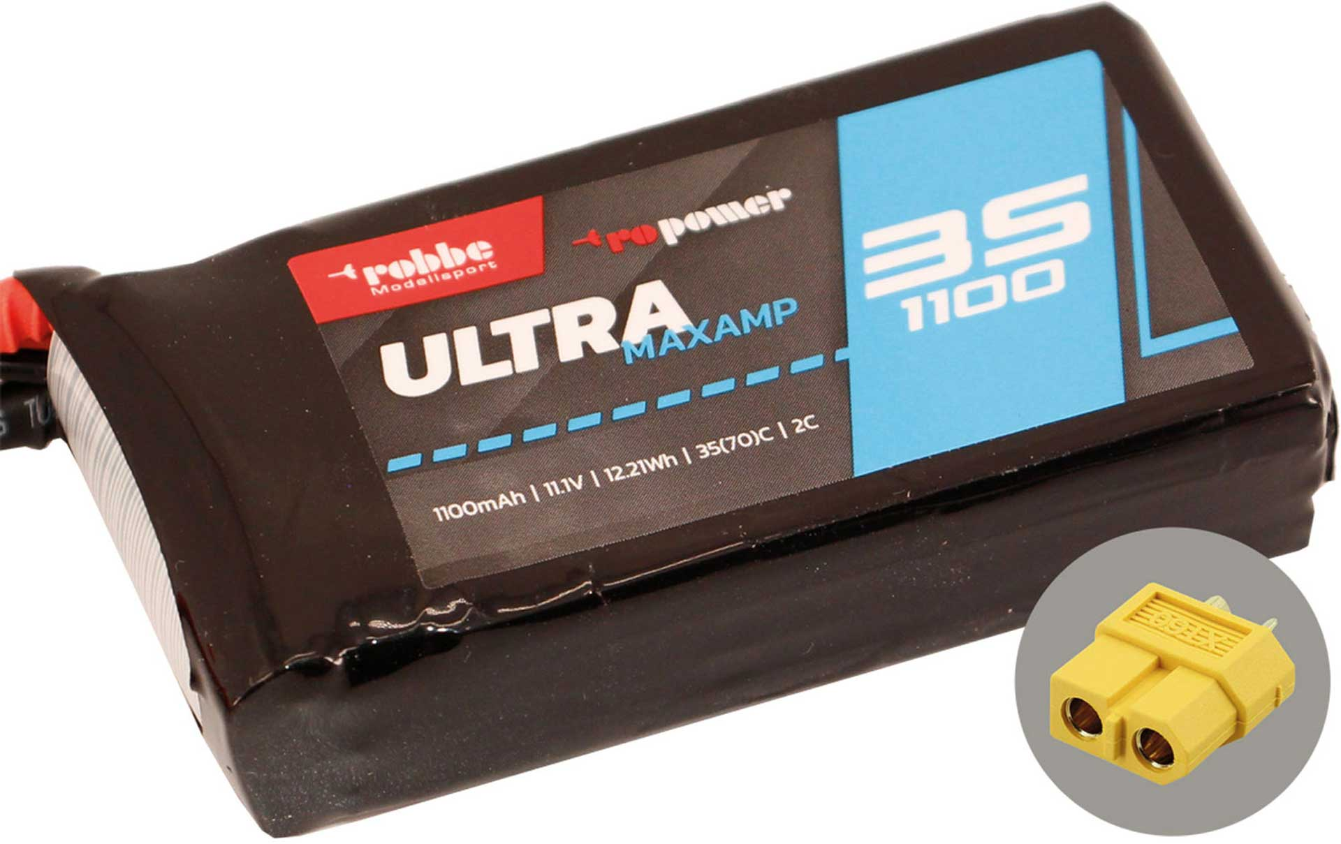 ROBBE RO-POWER ULTRA MAXAMP 1100MAH 11,1 VOLT