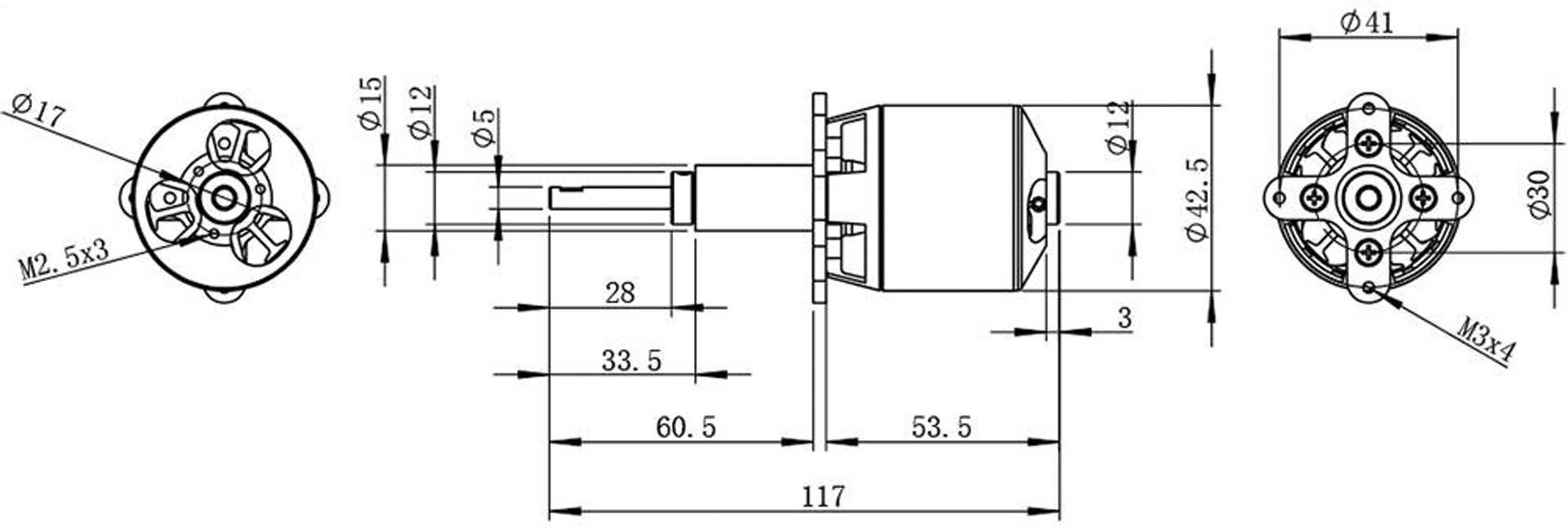 Robbe Modellsport RO-POWER TORQUE LS 4226/12 BRUSHLESS
