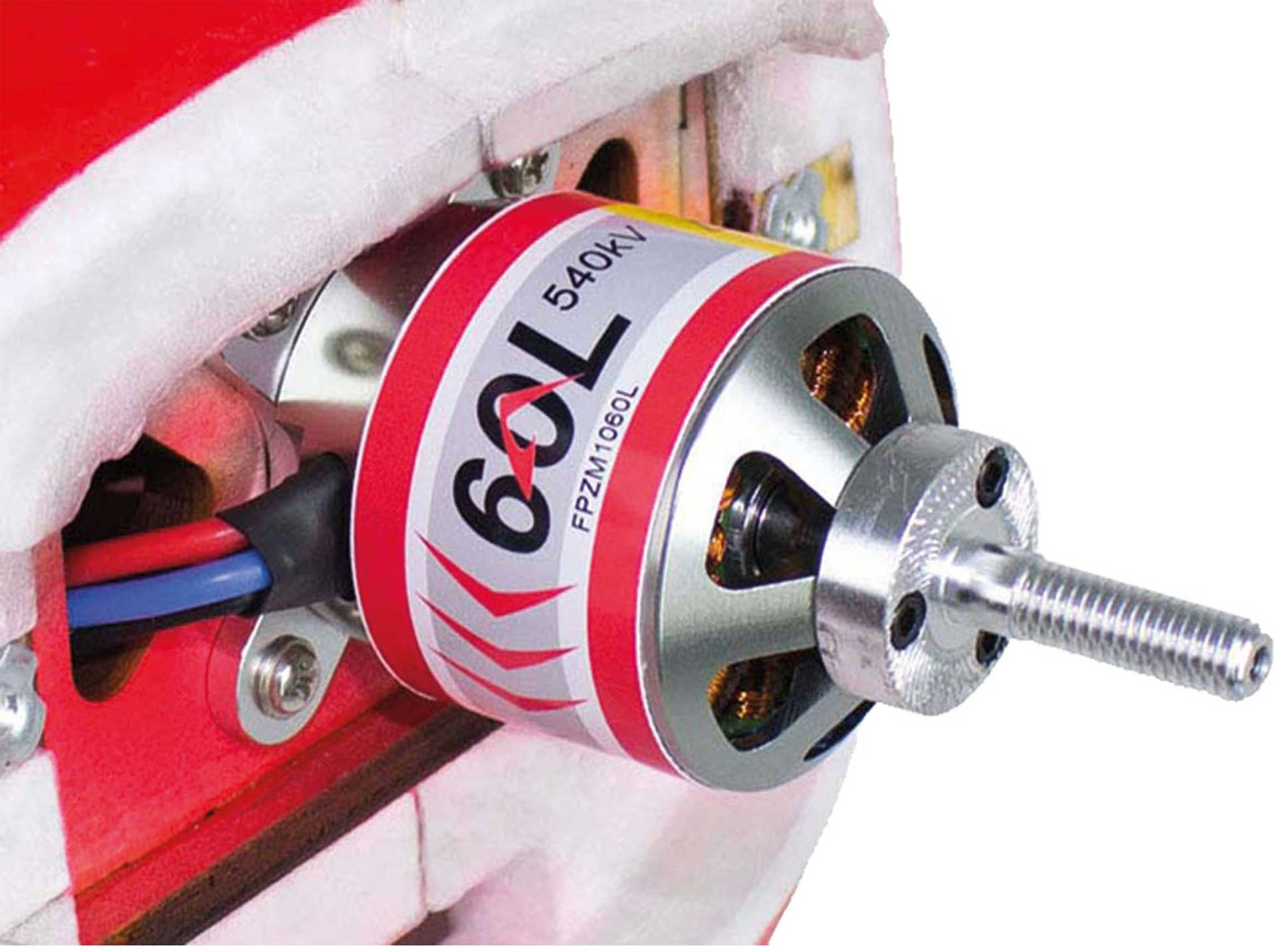 POTENZA 60 LIGHT 540KV BRUSHLESS MOTOR