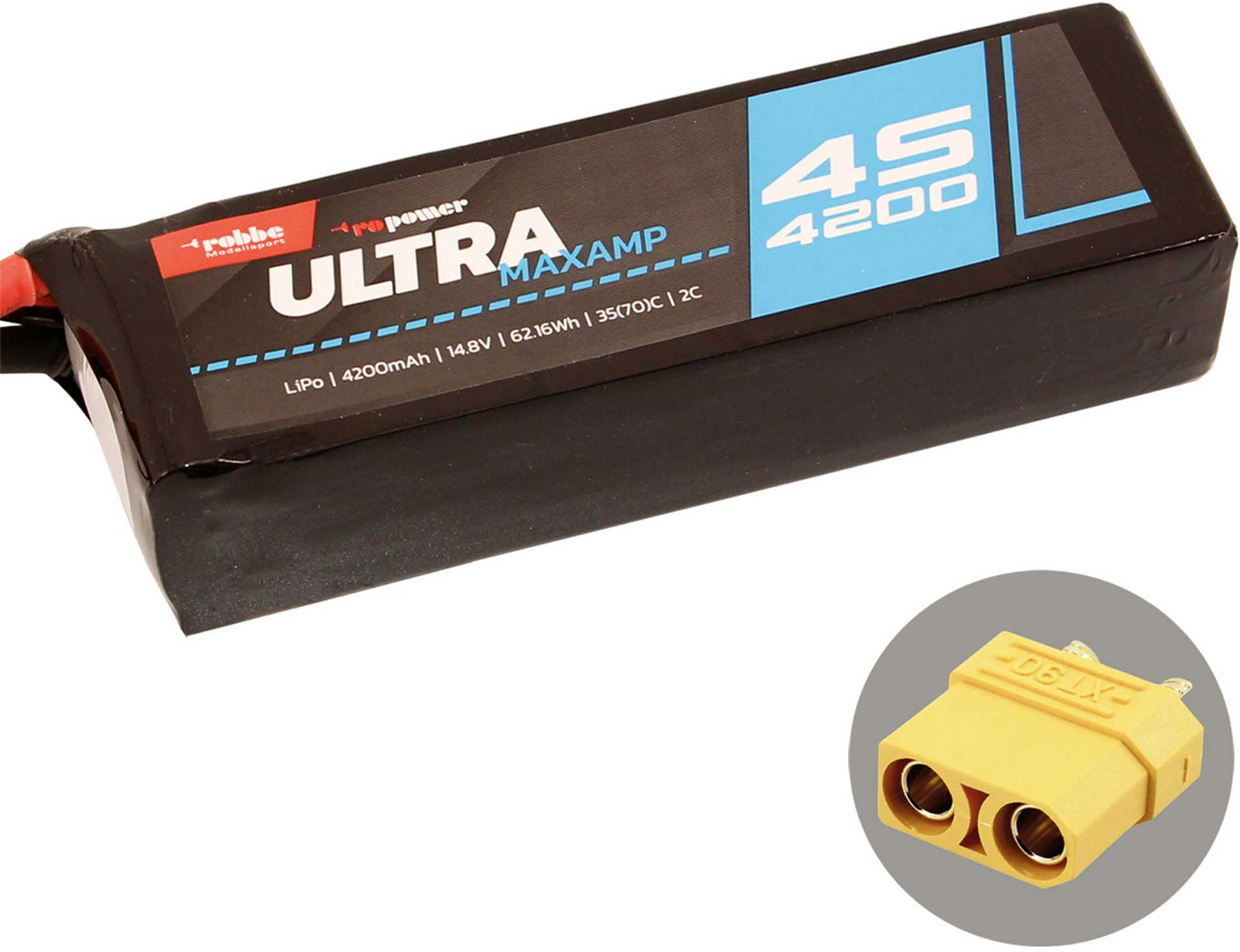 ROBBE RO-POWER ULTRA MAXAMP 4200MAH 14,8 VOLT
