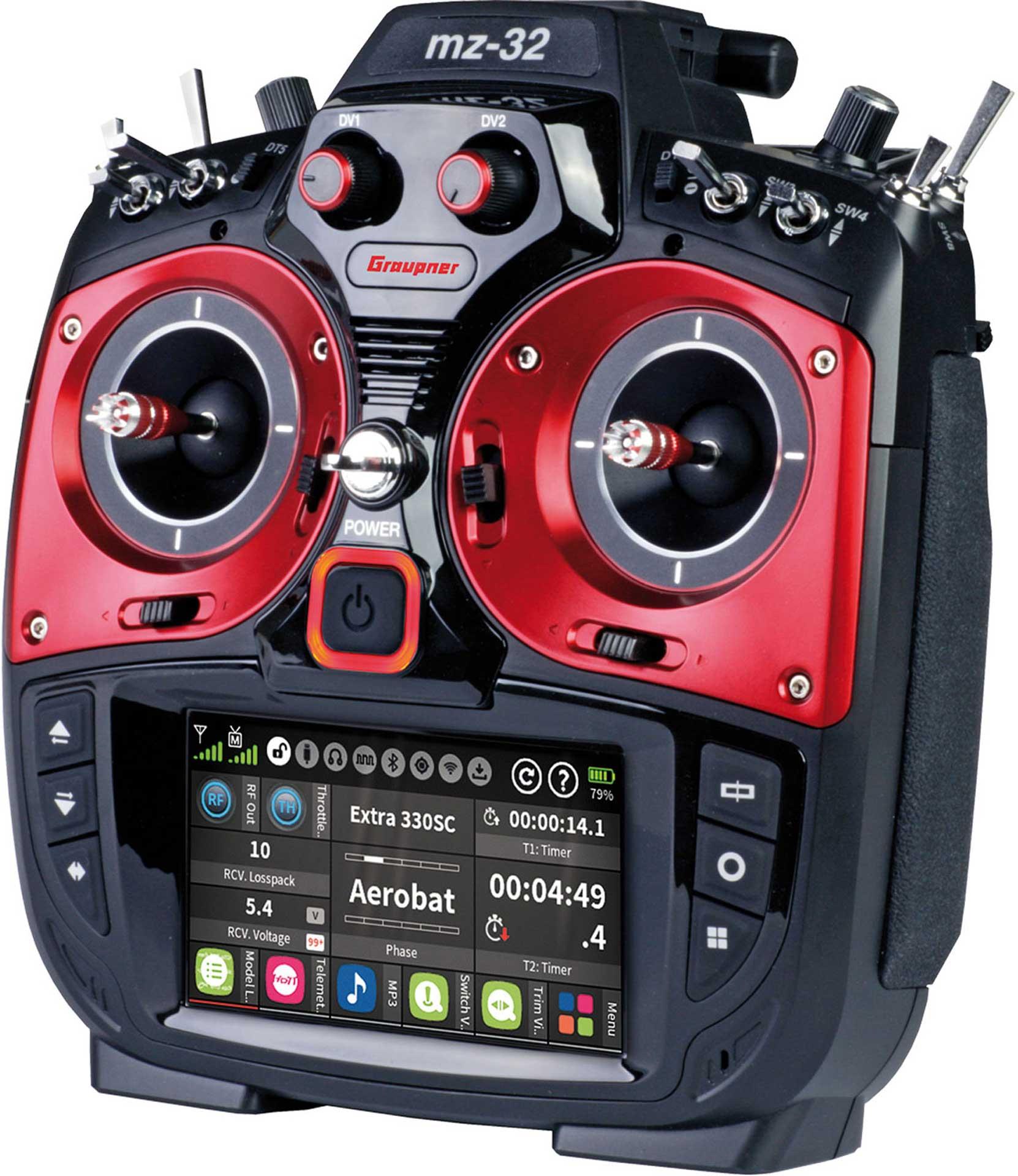 GRAUPNER MZ-32 HOTT Einzelsender 2,4Ghz Fernsteuerung
