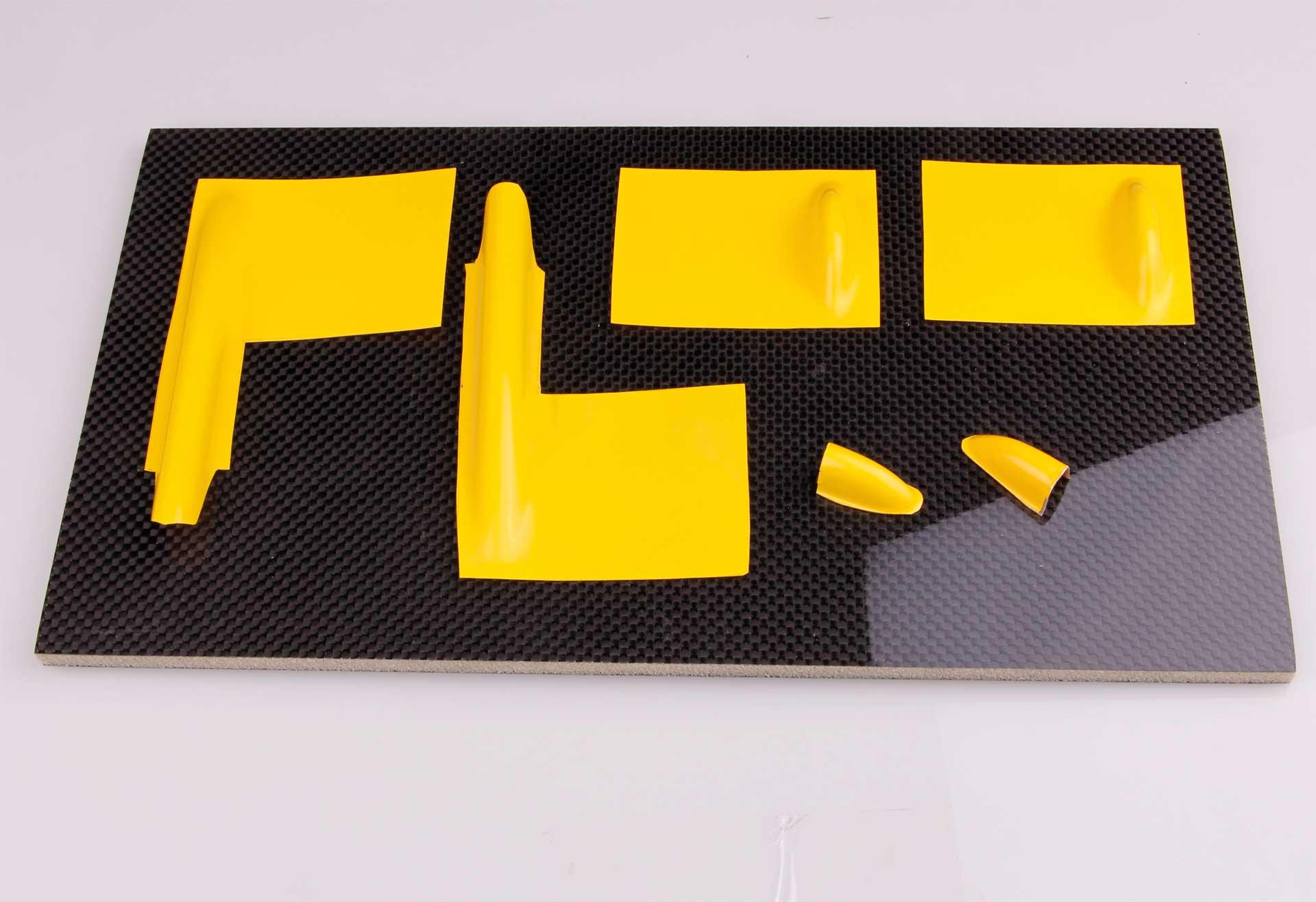 Robbe Modellsport Servoabdeckungen Scirocco GfK gelb