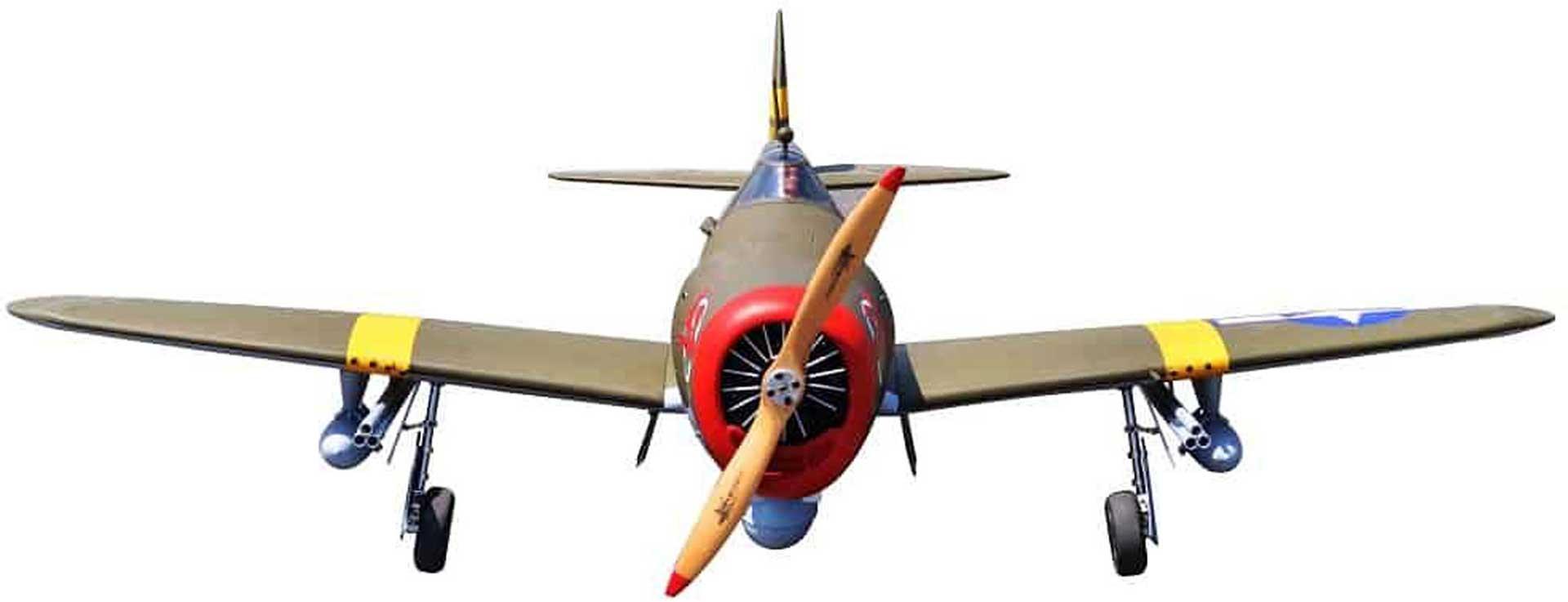 SG-MODELS P-47 THUNDERBOLT RAZORBACK ARF WARBIRD GIANT SCALE 2,06M