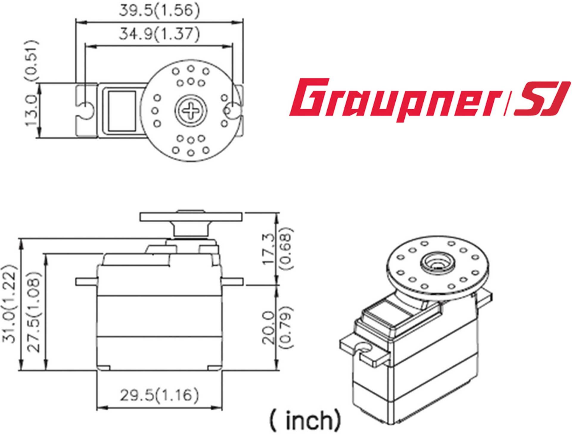 GRAUPNER DES 586 BB DIGITAL SERVO