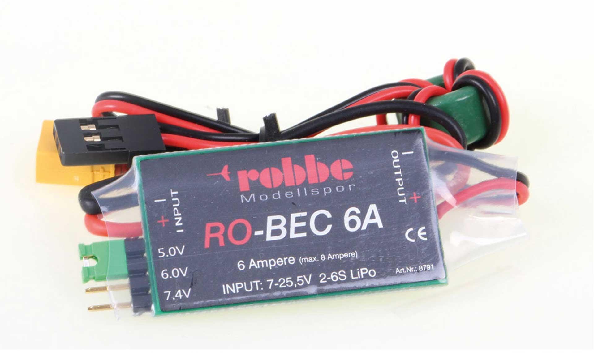 Robbe Modellsport RO-BEC 6A EMPFÄNGERSTROMVERSORGUNG
