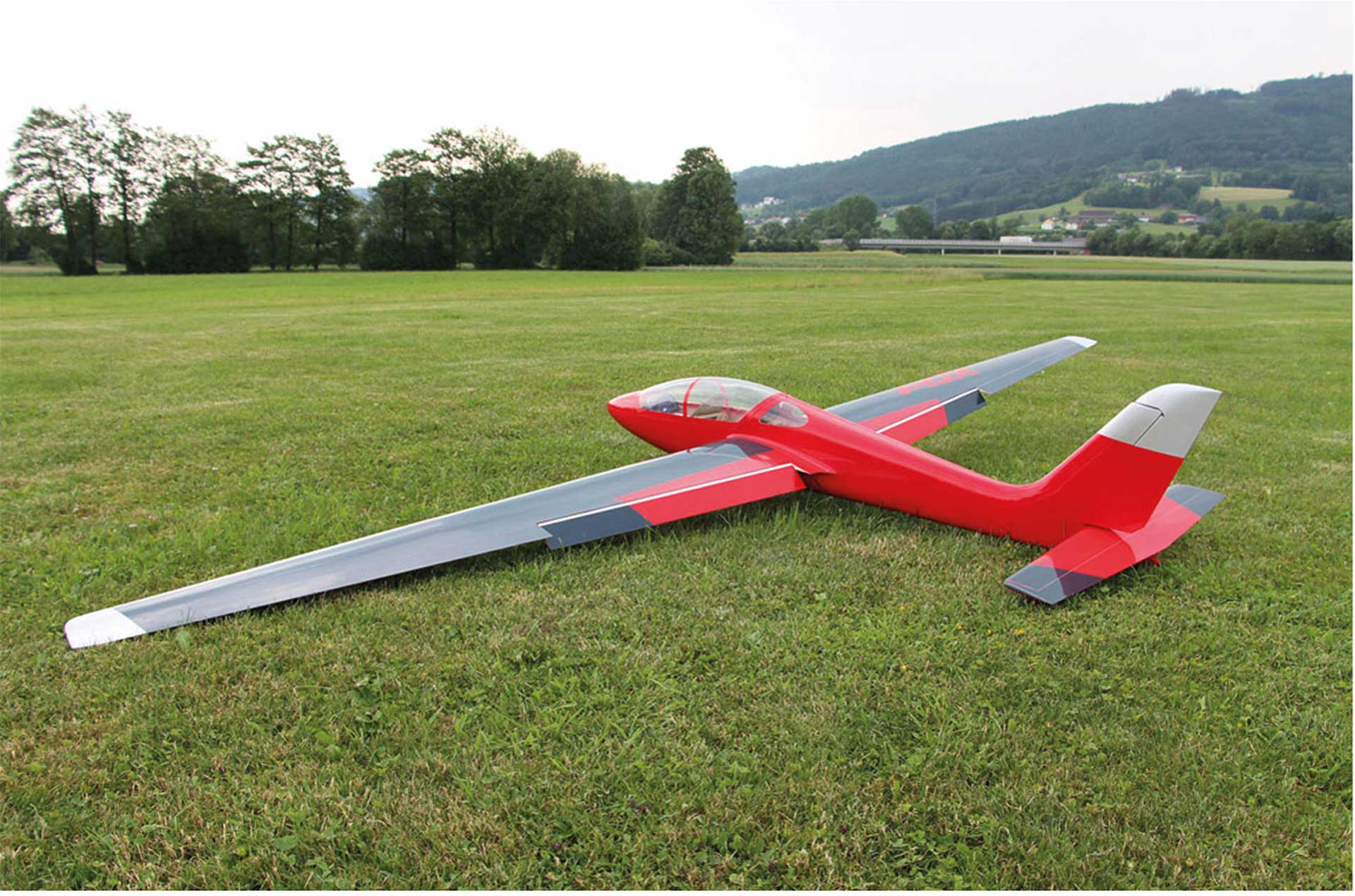 ROBBE MDM-1 FOX 3.5 M FULL COMPOSITE PNP ACROBATIC ELECTRIC GLIDER