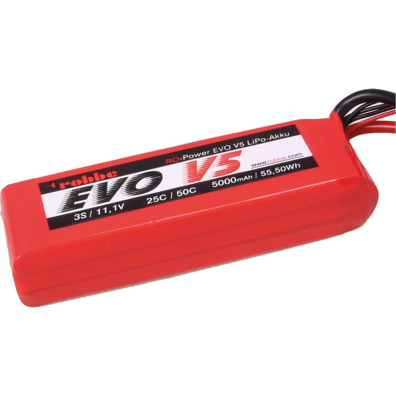 ROBBE RO-POWER EVO V5 25(50)C 11,1 VOLT 3S 5000MAH LIPO BATTERY