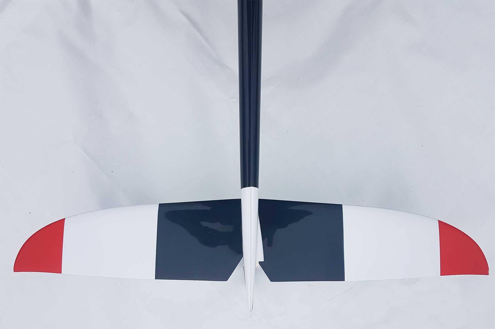 Robbe Modellsport SCIROCCO S 3,75M ARF (Petrol) VOLL-GFK HOCHLEISTUNGSSEGLER MIT 4-KLAPPENFLÜGEL