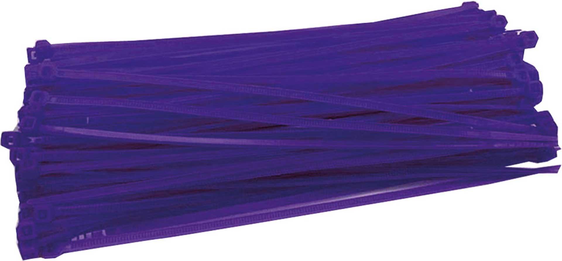 ROBBE KABELBINDER 3X150 MM 100 Stück Blau